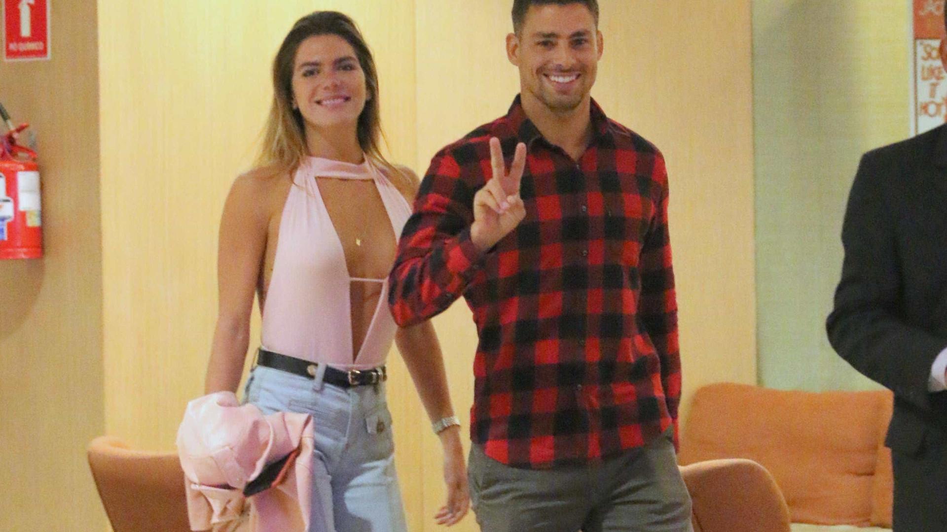 Cauã Reymond e Mariana Goldfarb terminam o namoro