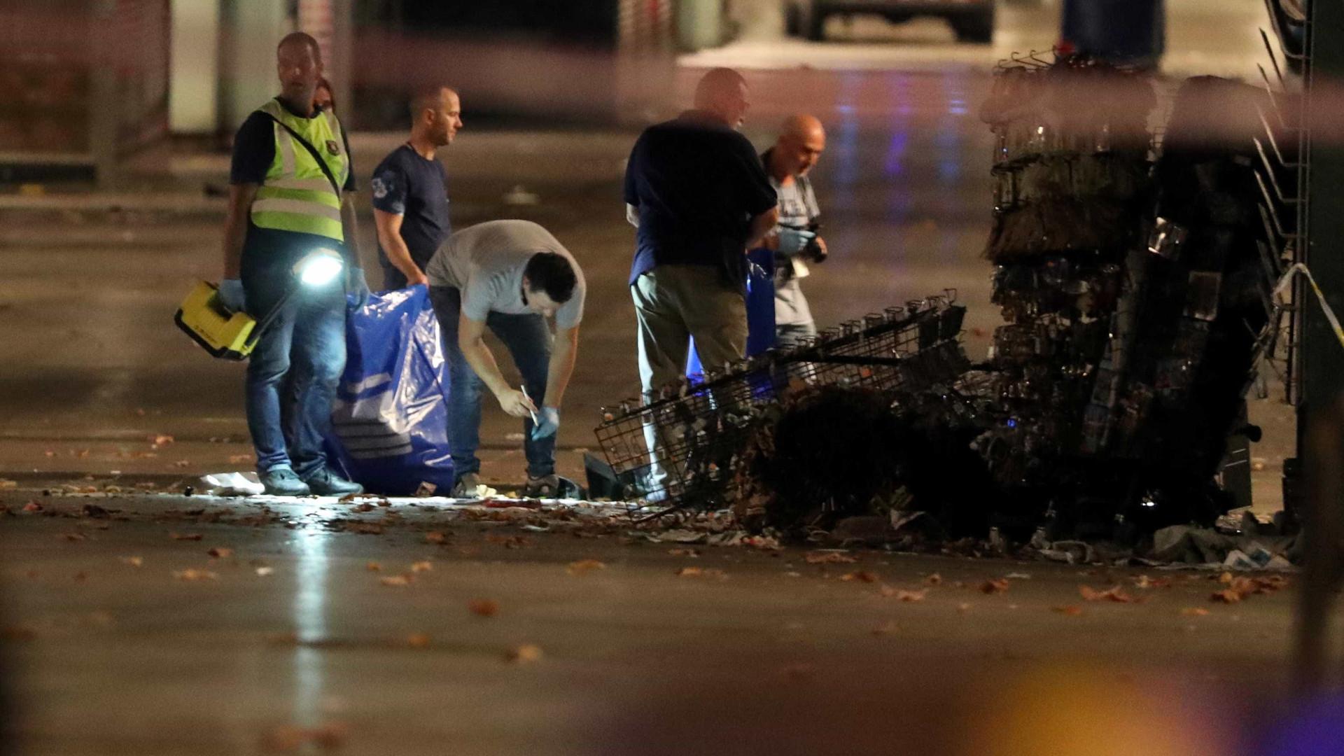 Veja as fotos tiradas após o ataque terrorista em Barcelona
