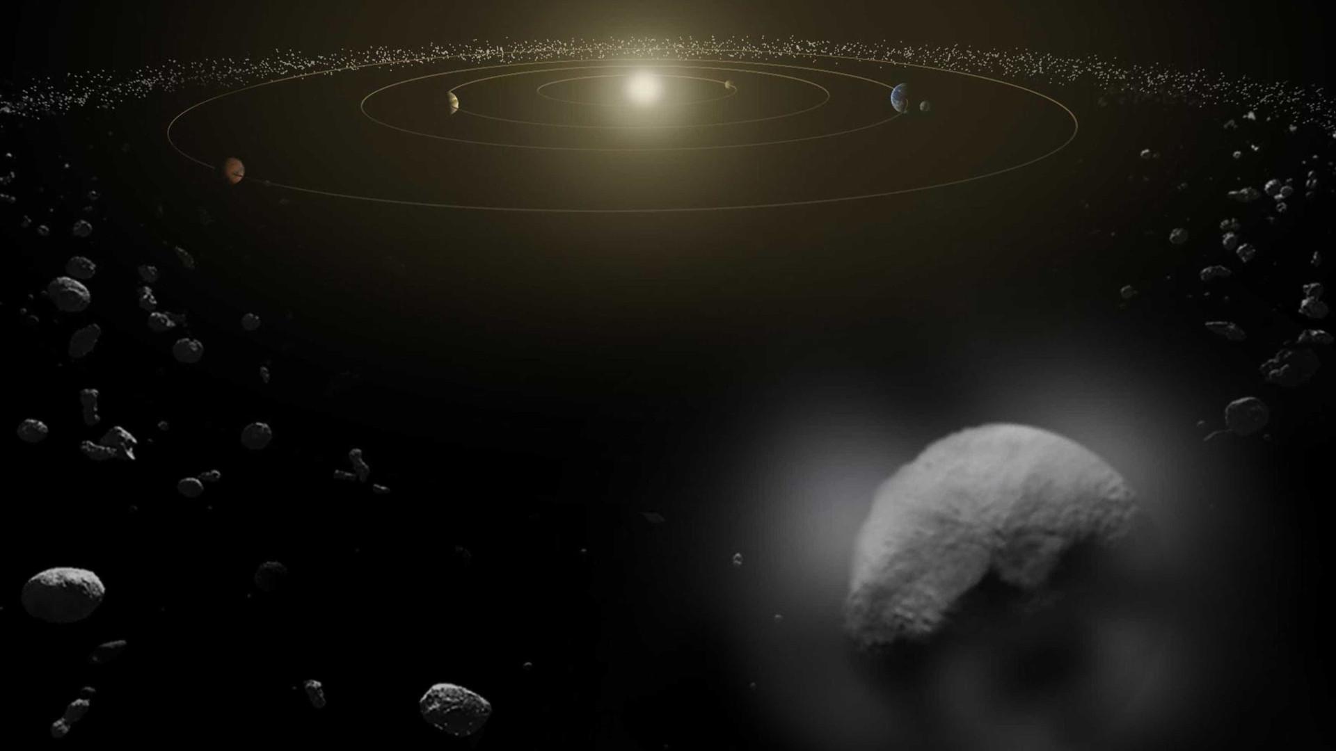 Nasa mostra como o maior asteroide na hist ria se for Mostra nasa