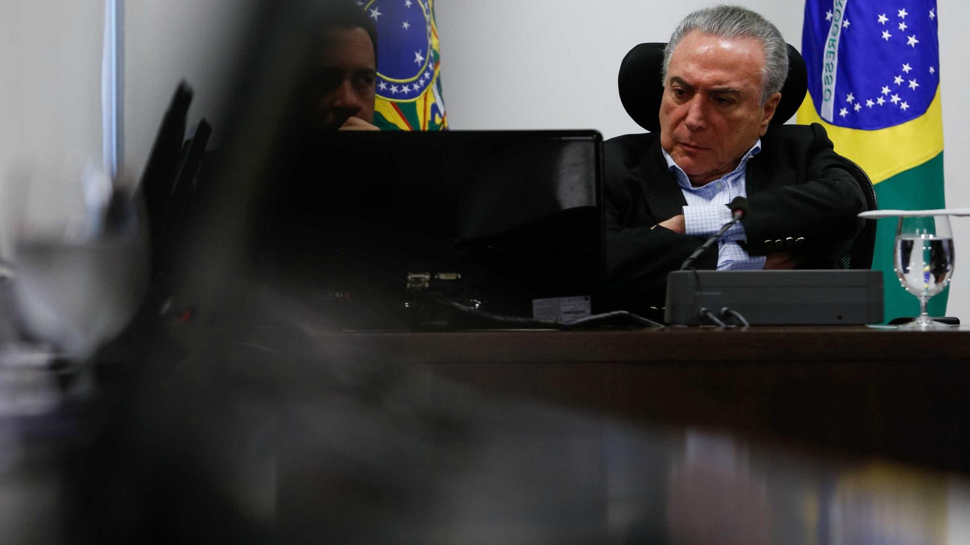 STF solicita registros de visitas de amigos de Temer ao Planalto