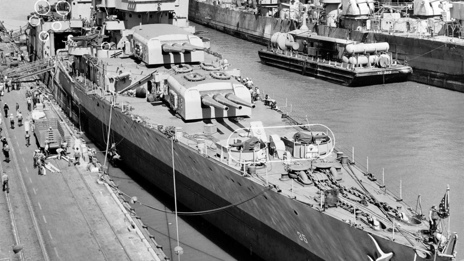 Com saldo de 800 mortes navio é encontrado no fundo do Pacífico