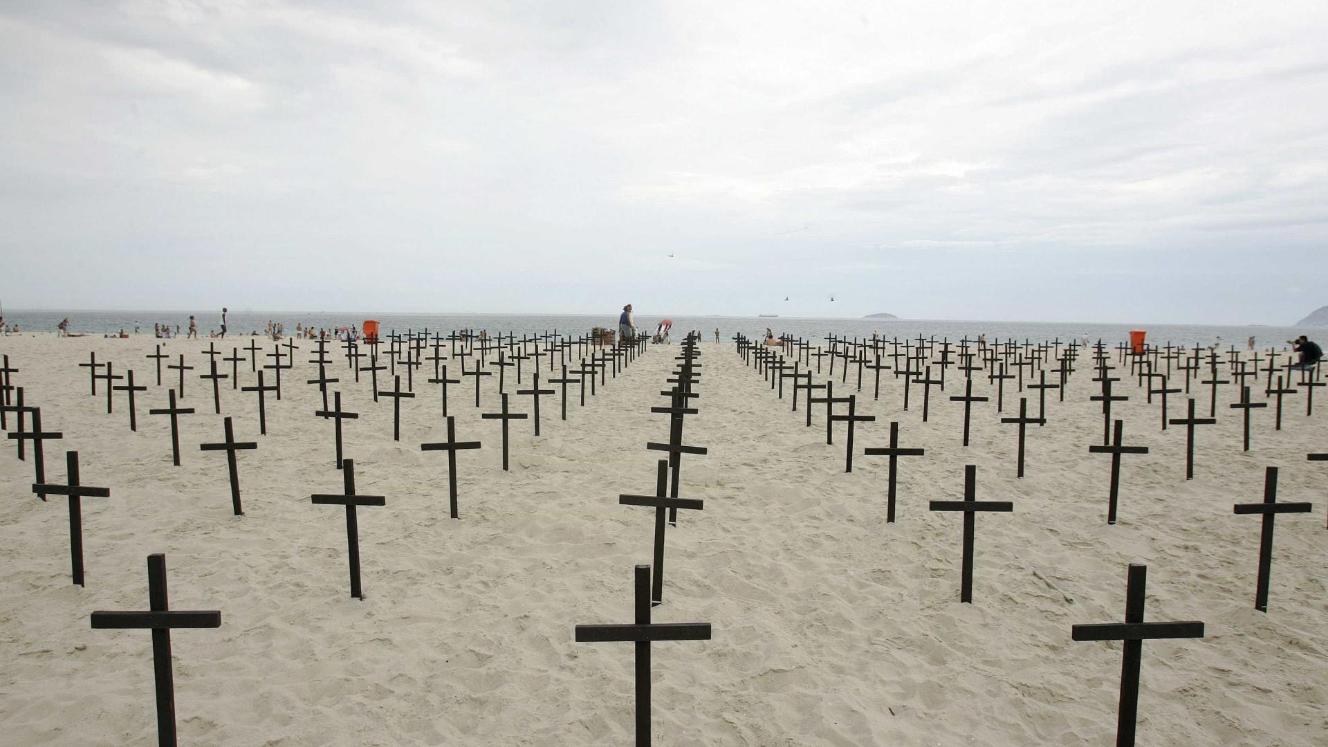 Brasil registra 28 mil homicídios no primeiro semestre de 2017