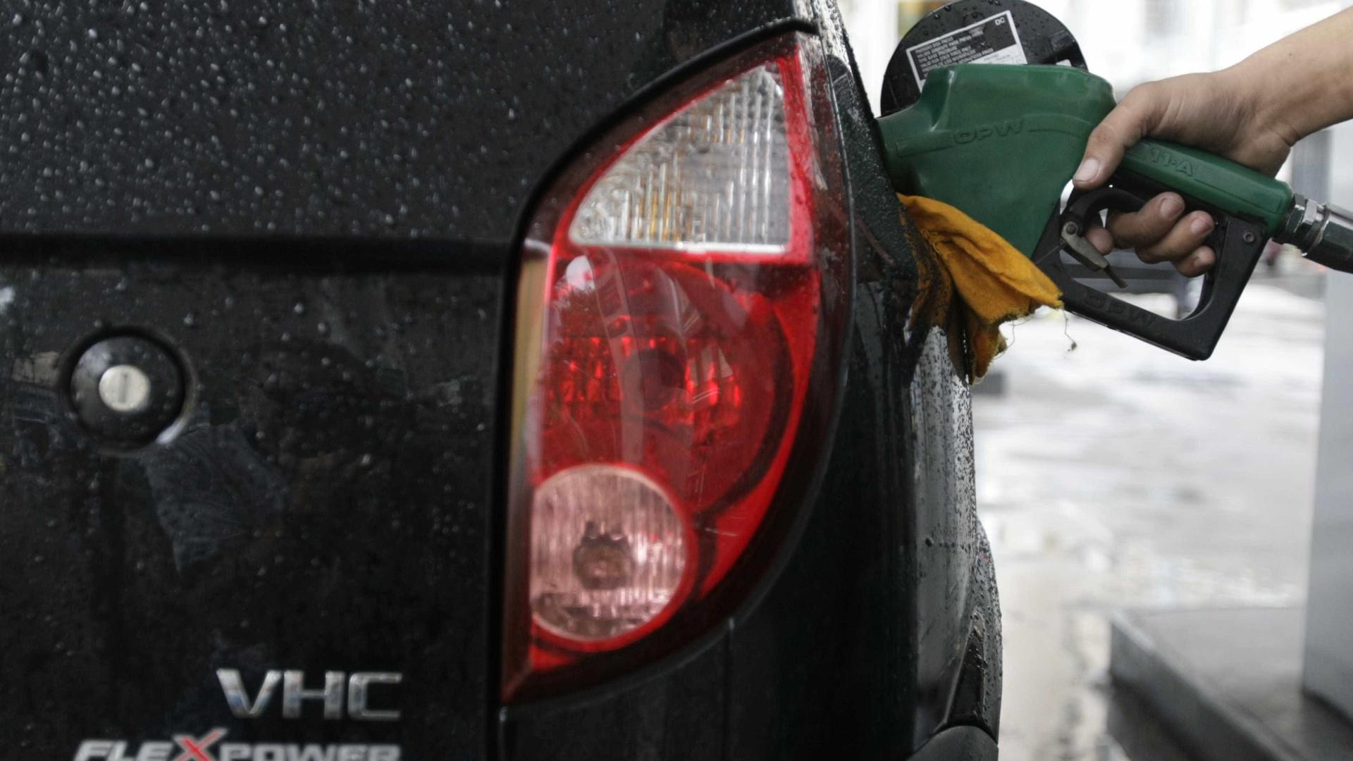 Preço da gasolina sobe pela 7ª vez consecutiva