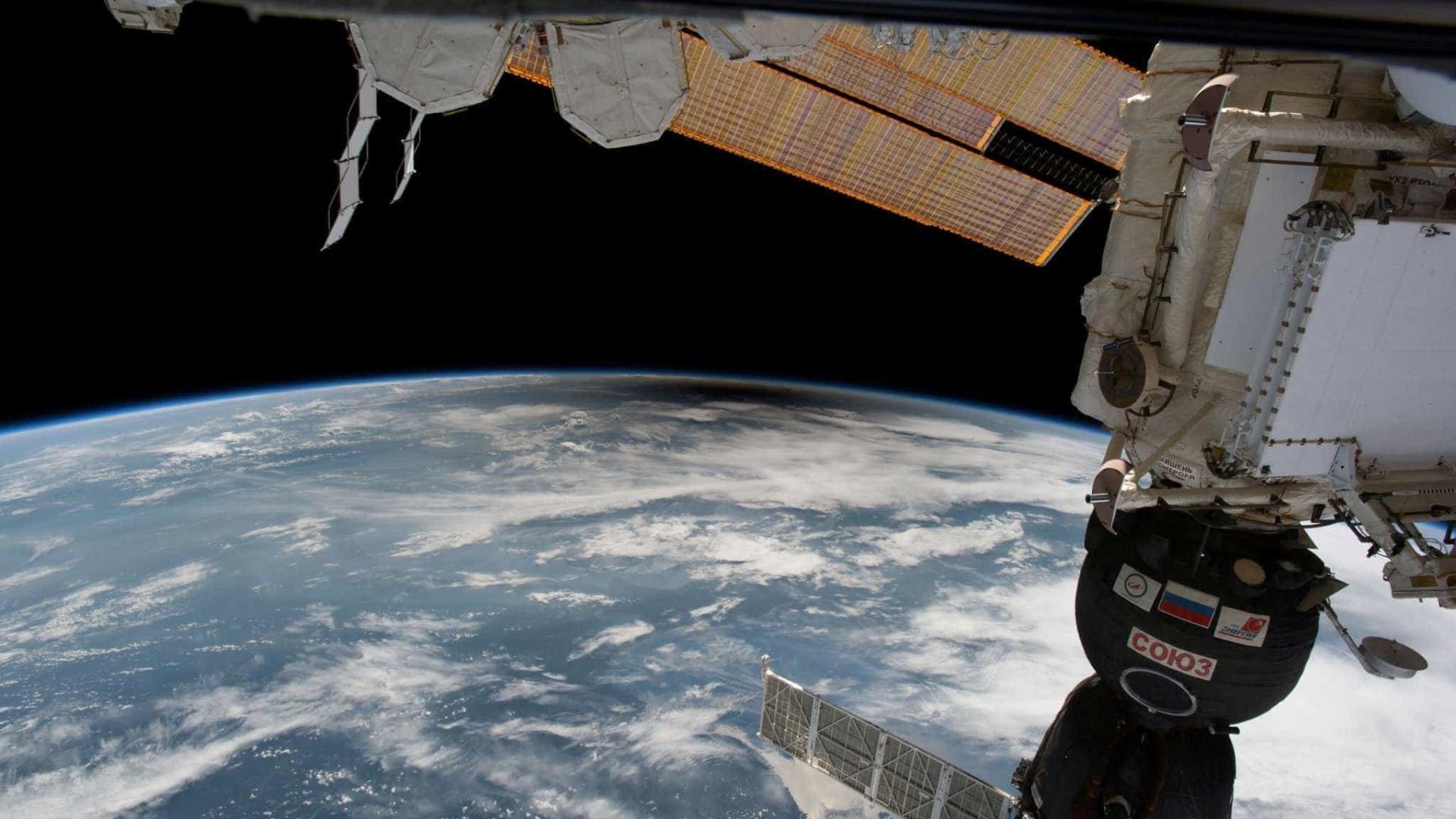 Astronautas veem detalhe do eclipse solar que ninguém viu; assista