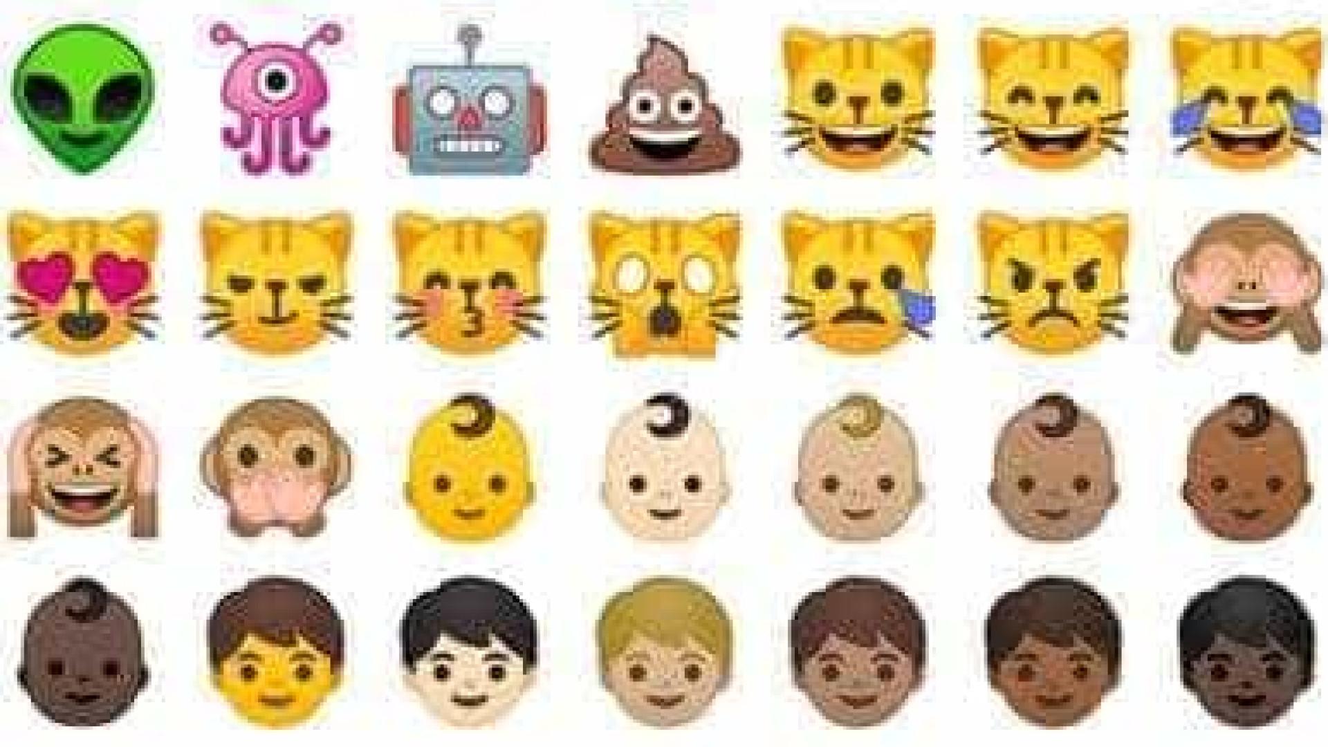Novo sistema Android, Oreo apresenta emojis inéditos