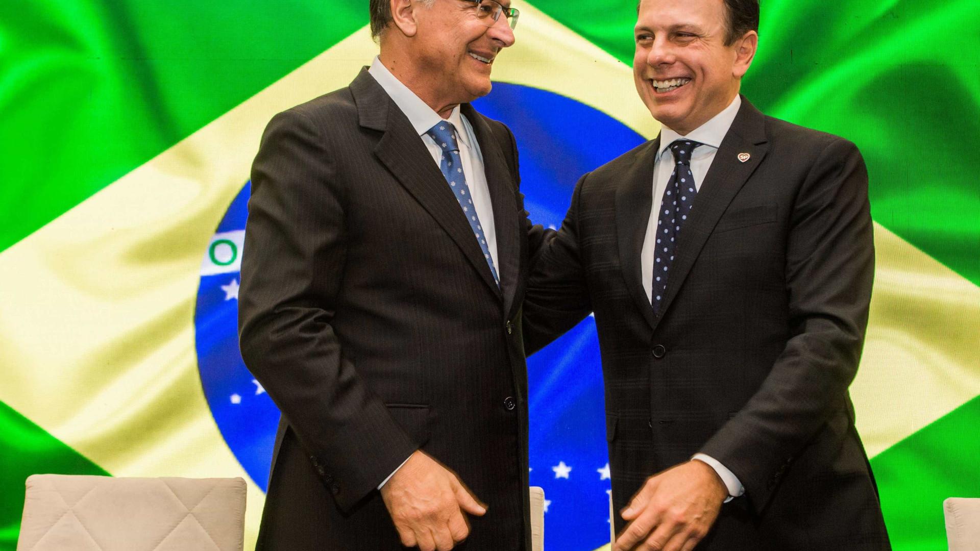 Alckmin e Doria brigam em reunião do PSDB: 'Traidor eu não sou'