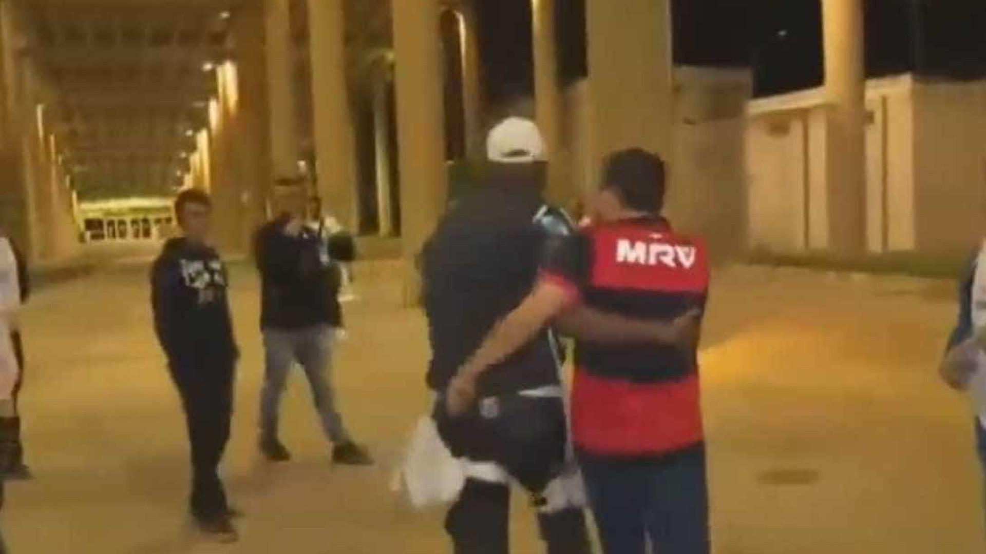 Torcedor do Flamengo é detido acusado de racismo no Maracanã