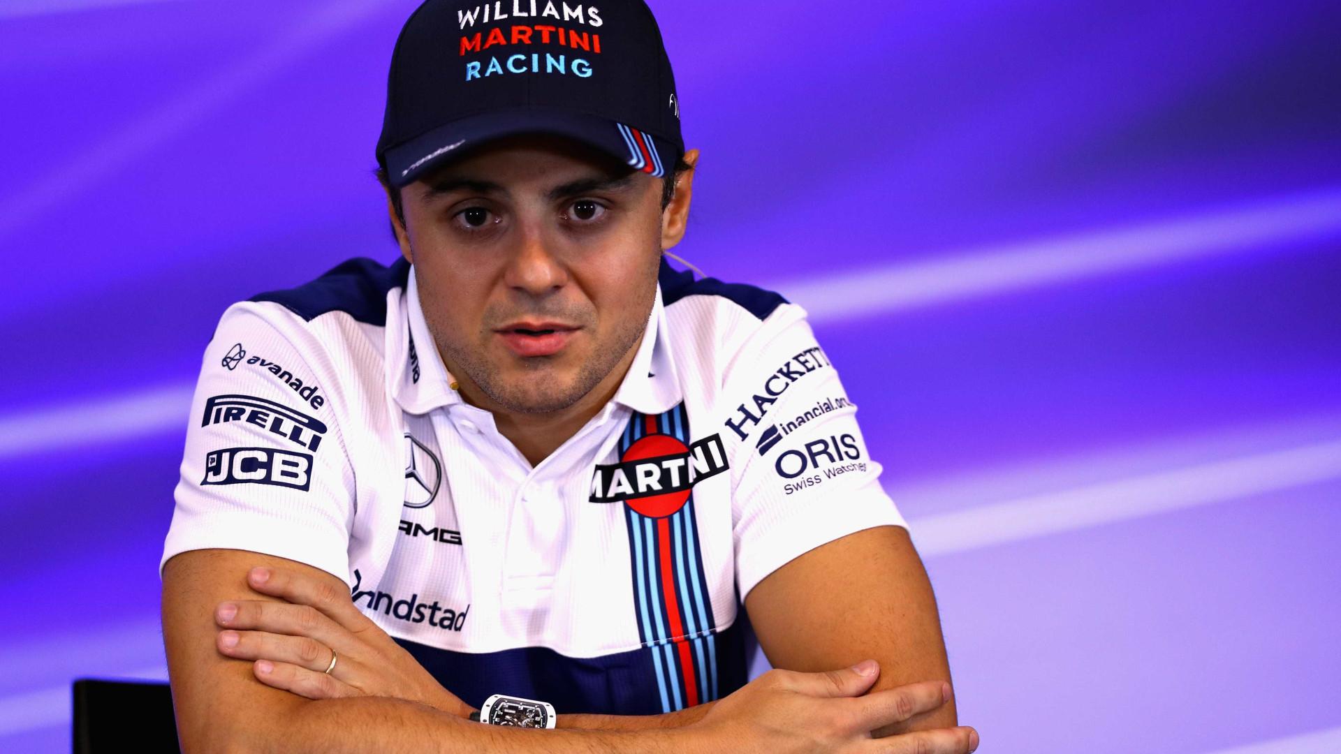 Com capacete novo, Massa se diz ansioso para retornar a Spa-Francorchamps