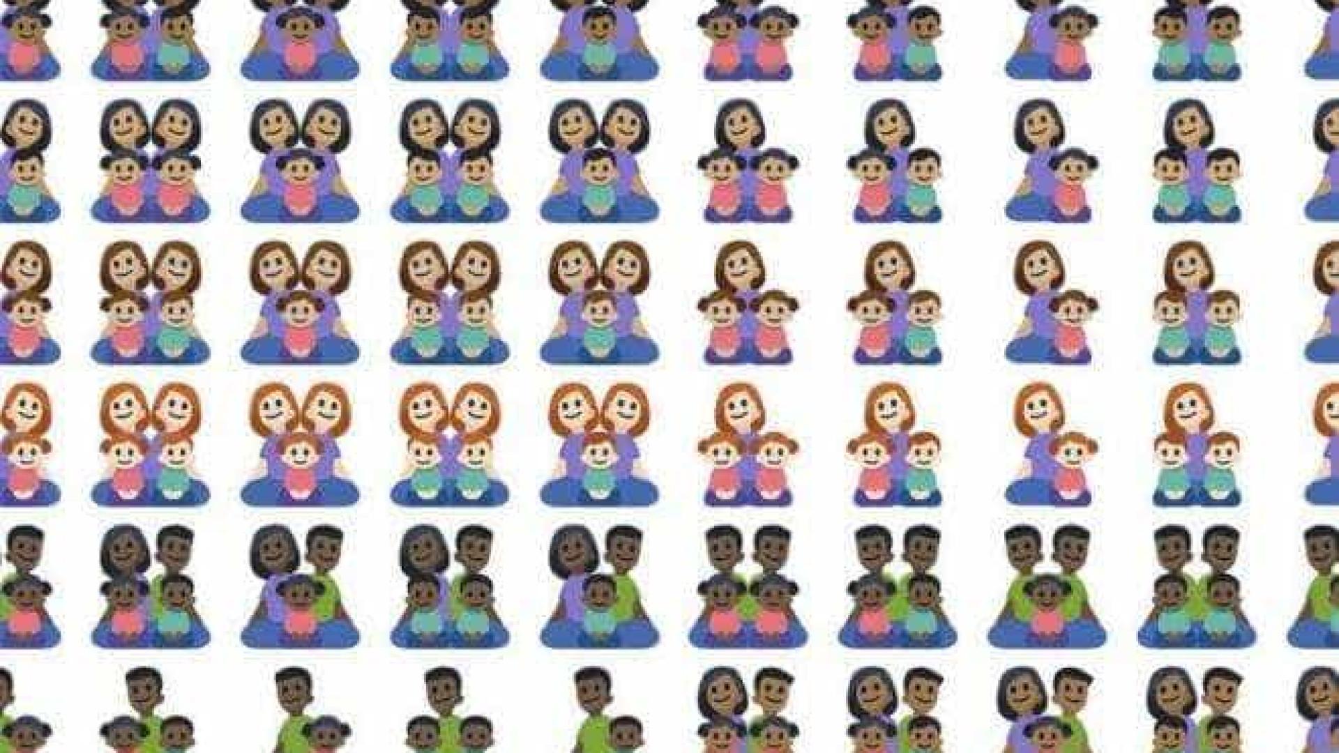 naom 59a024d5dc534 - Facebook libera mais de cem emojis de família