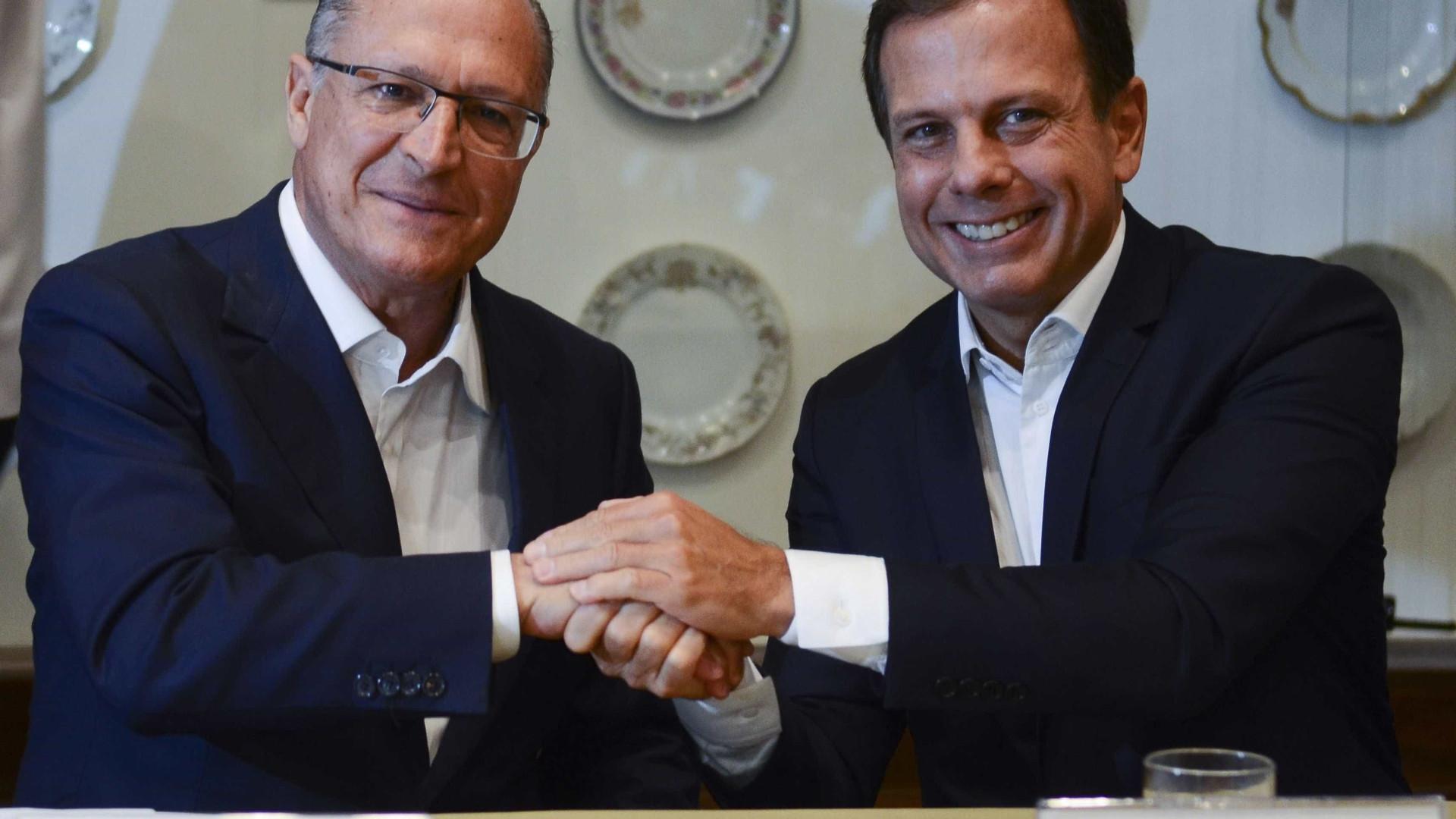 Disputa precoce entre Alckmin e Doria deixa PSDB em alerta