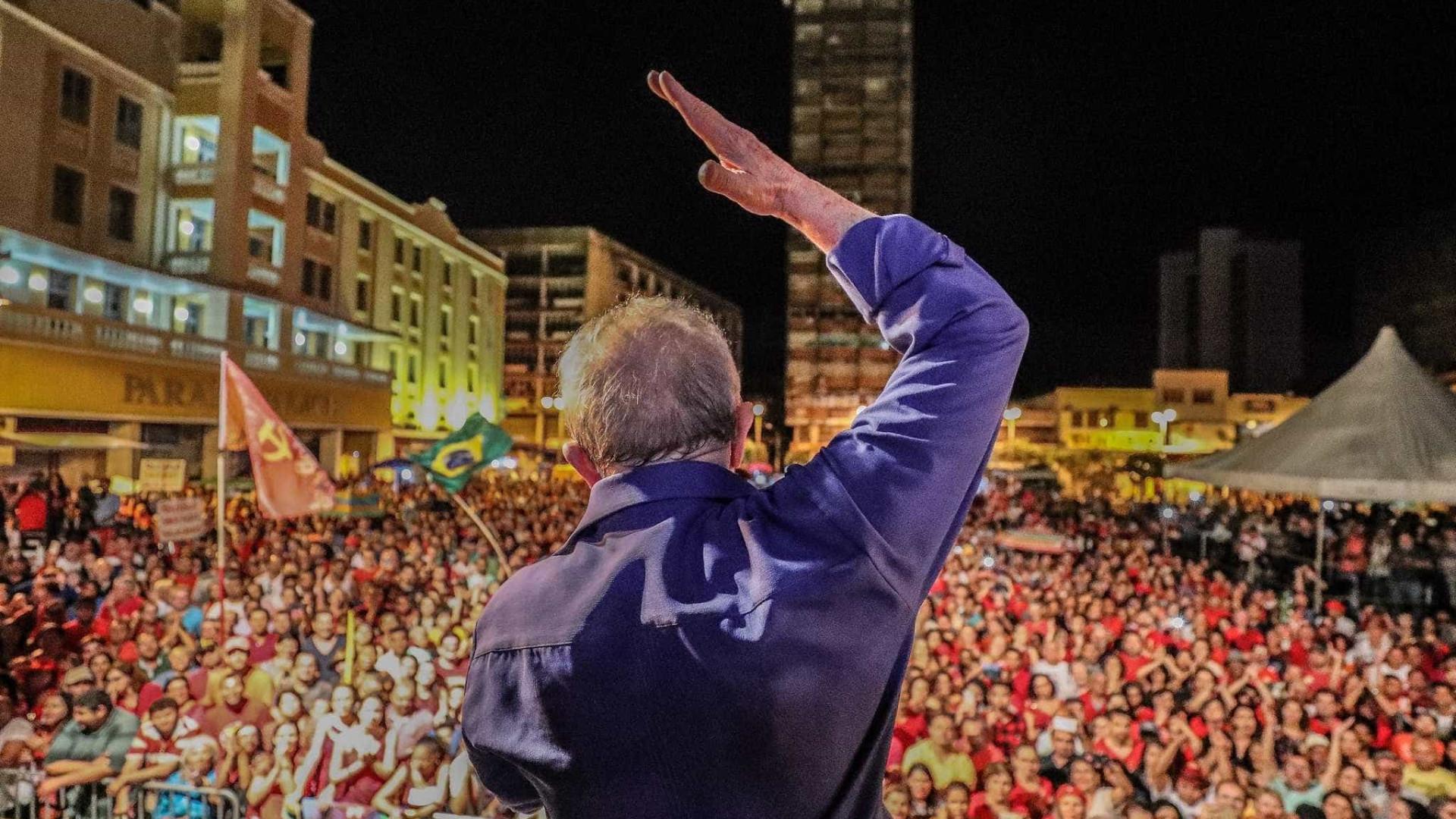 Responsáveis por Lava Jato são 'canalhas', diz Lula na Paraíba
