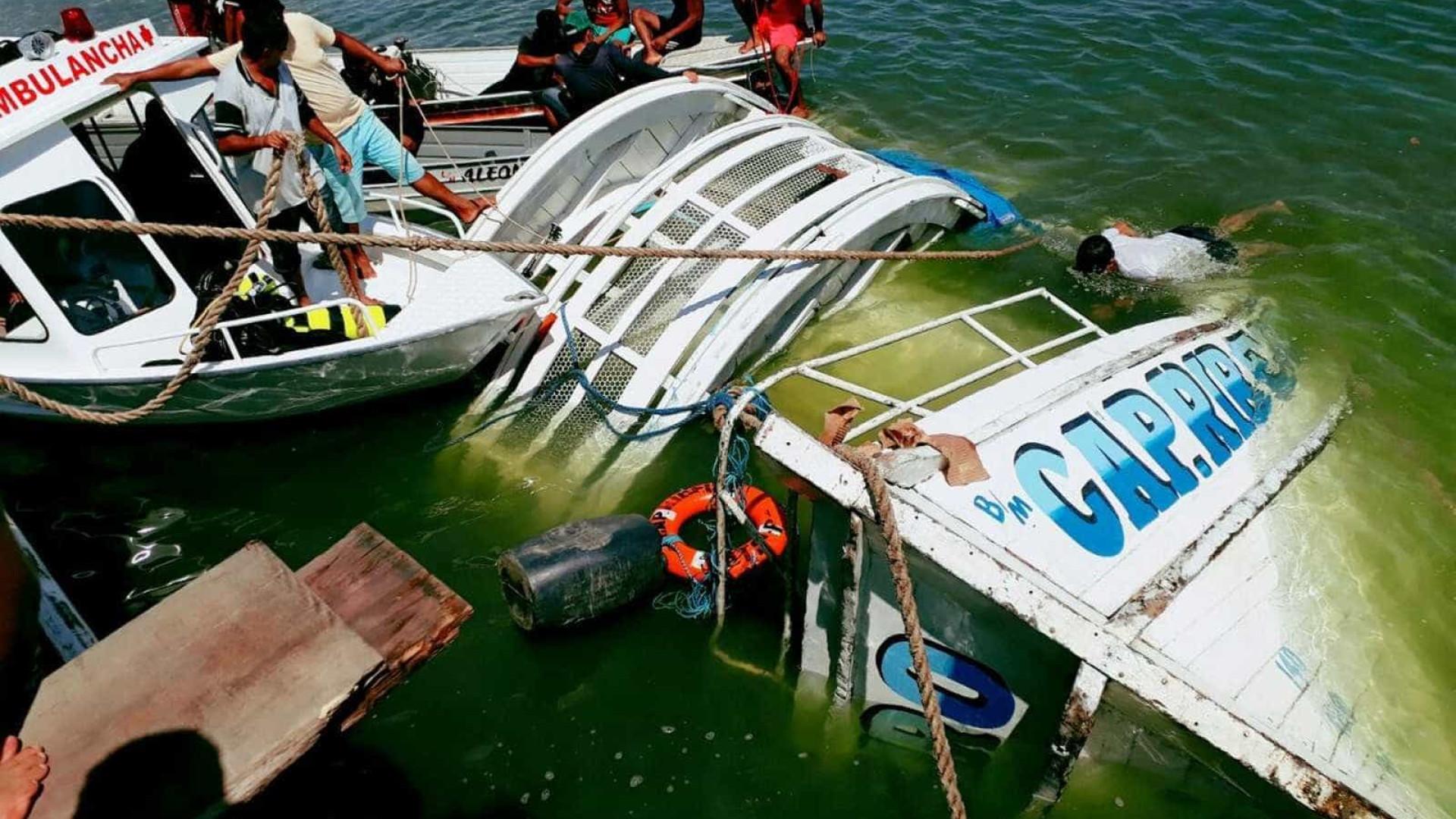 Dono de barco naufragado no Pará culpa crise por irregularidade