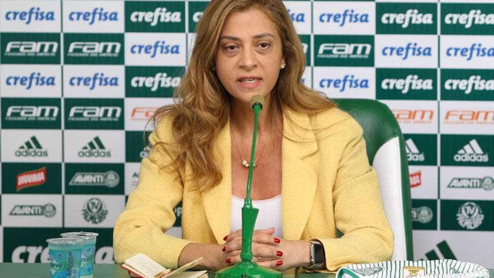 Patrocinadora diz que ficará no Palmeiras até faturar o título Mundial