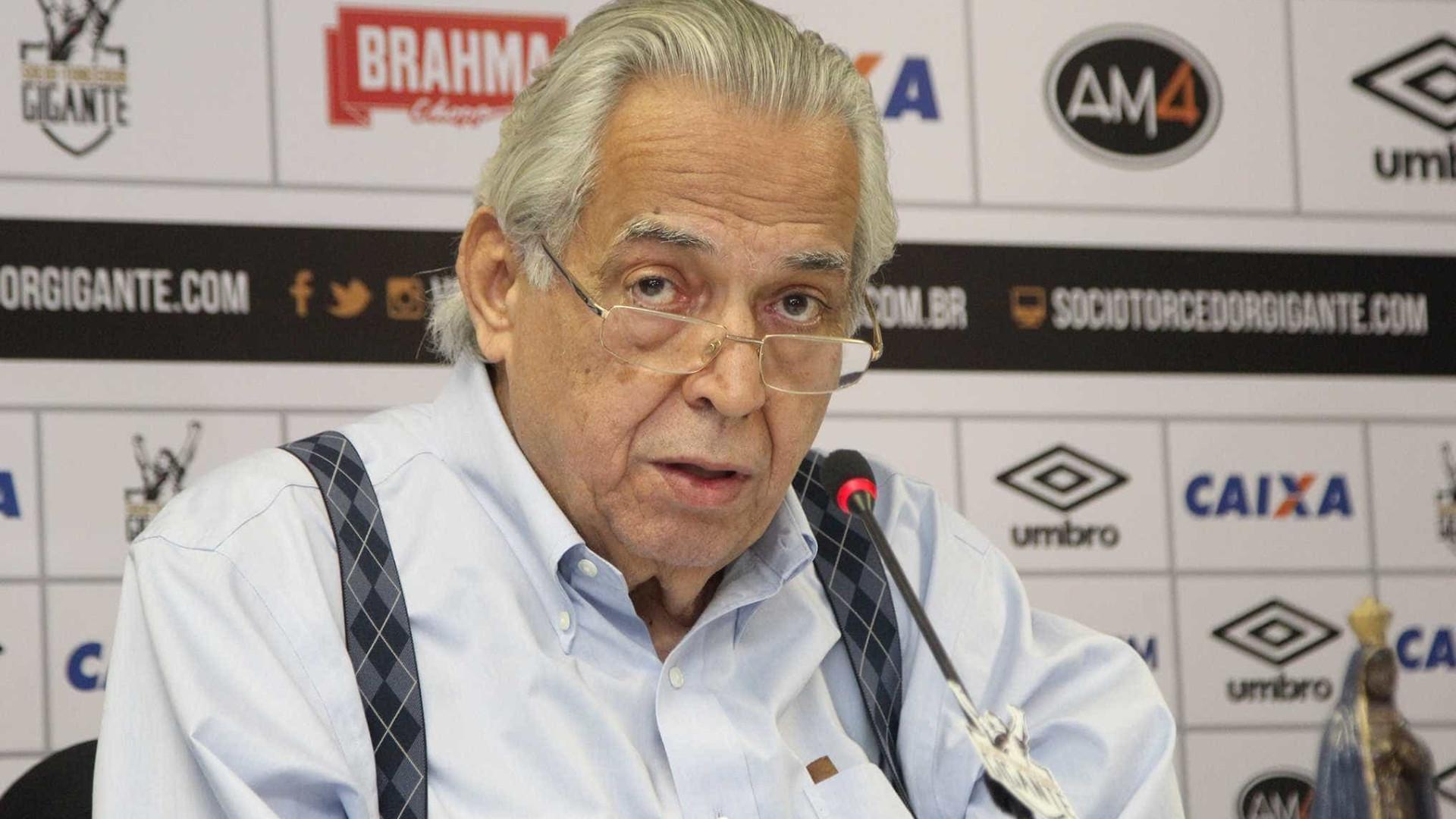 Ministério Público pede que Eurico seja destituído da presidência do Vasco
