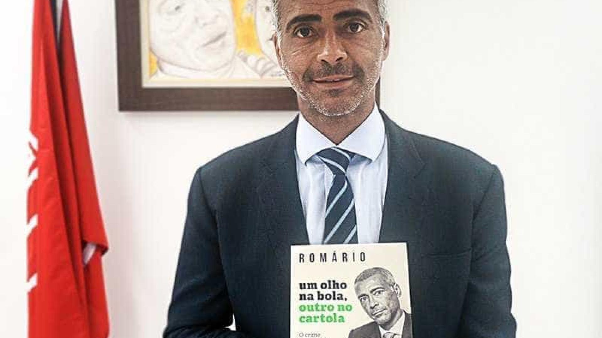 CBF notifica extrajudicialmente editora que publicará livro de Romário