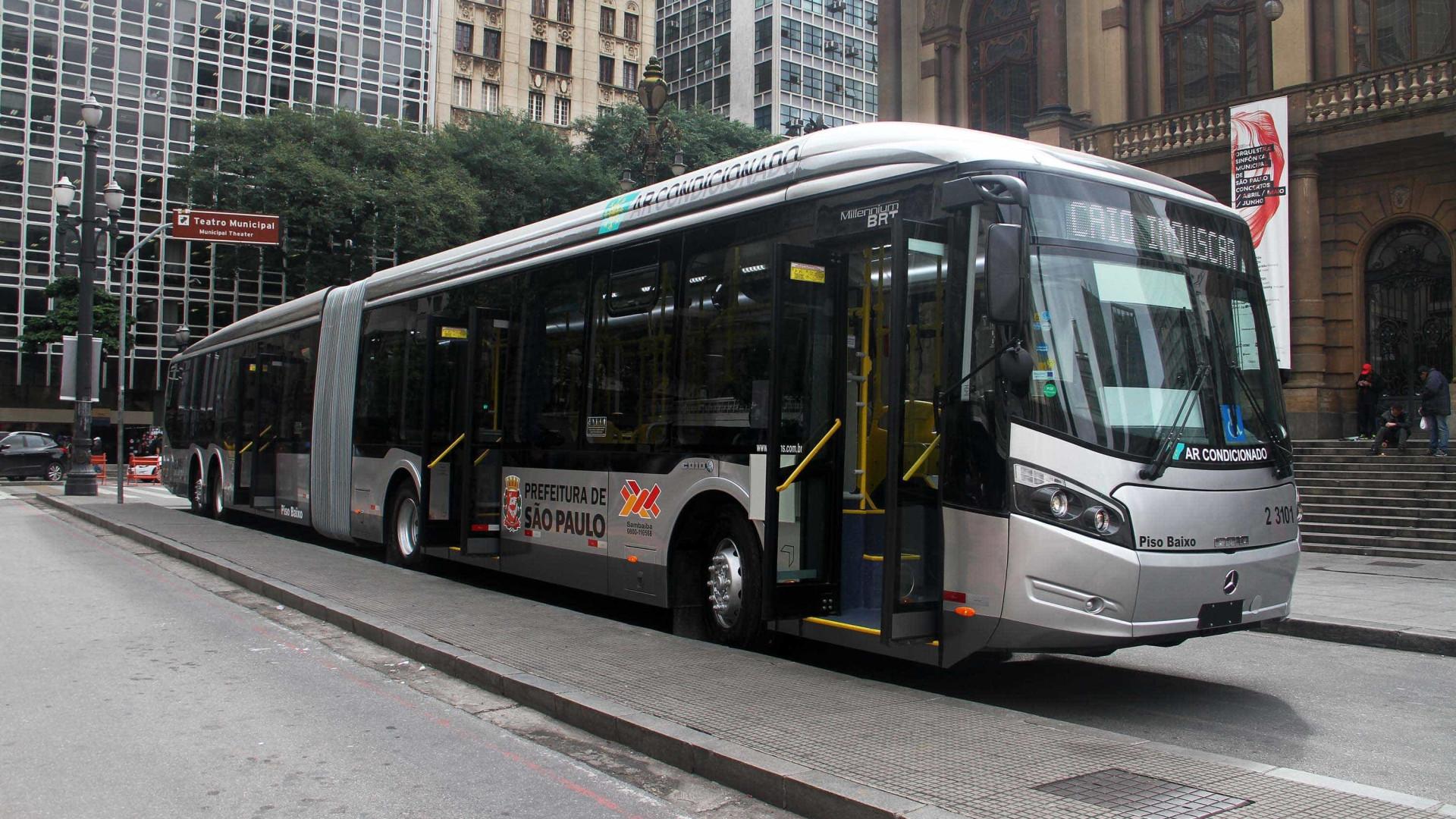 Trajeto de 25% dos ônibus de SP deve mudar