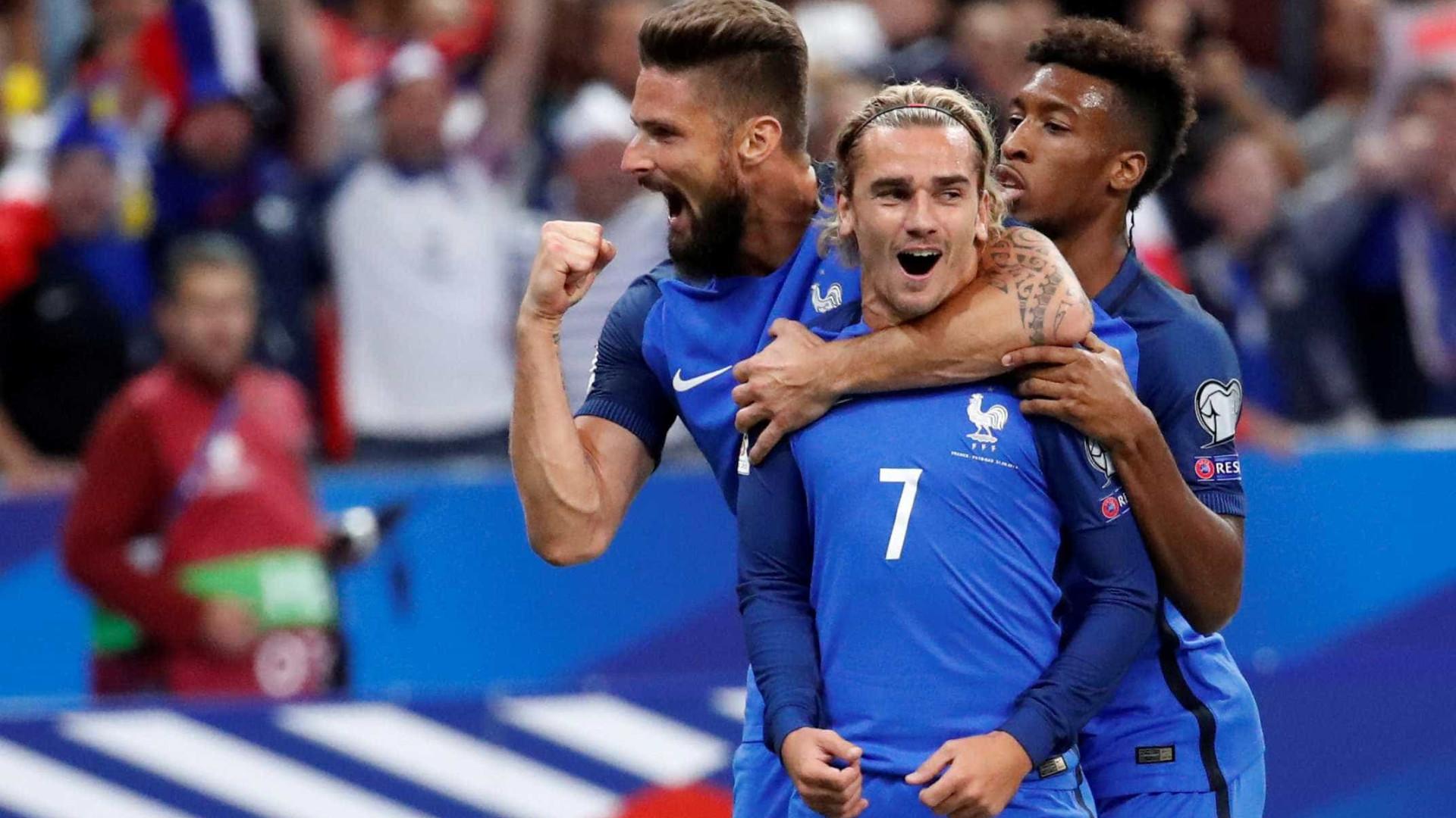 França goleia e complica Holanda nas Eliminatórias para Copa do Mundo