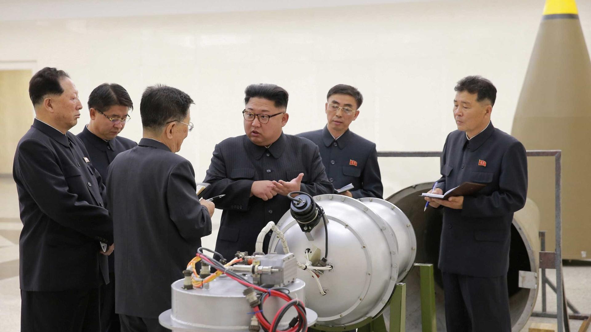 PerigosoCoreia do Norte testou hoje (03) sua arma mais potente até agora