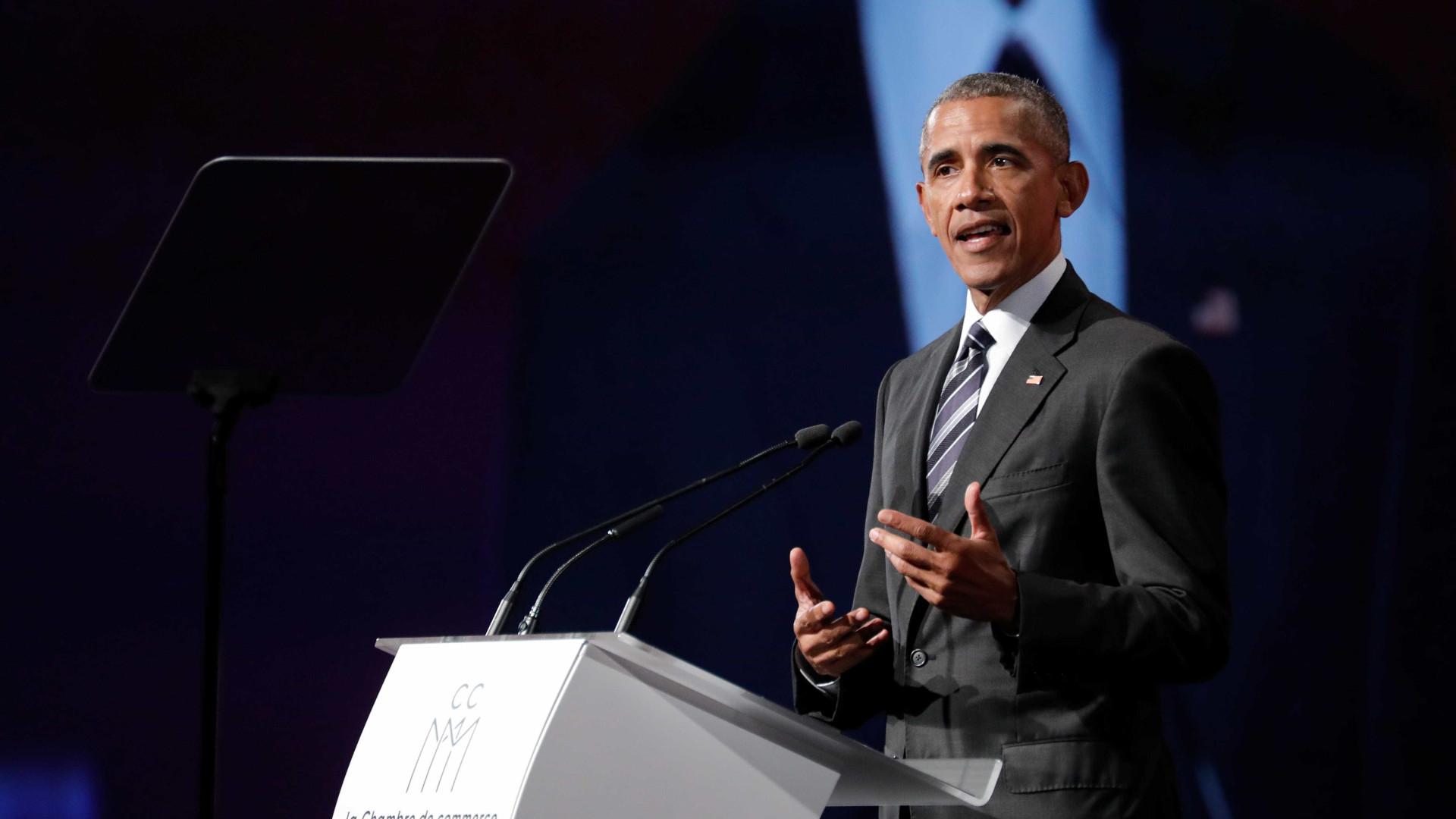 Obama virá ao Brasil em outubro para dar palestra