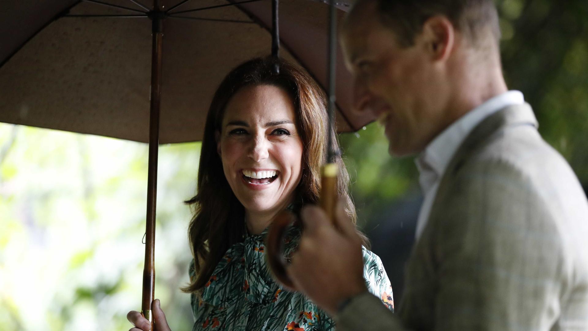 Príncipe William fala sobre gravidez de Kate Middleton