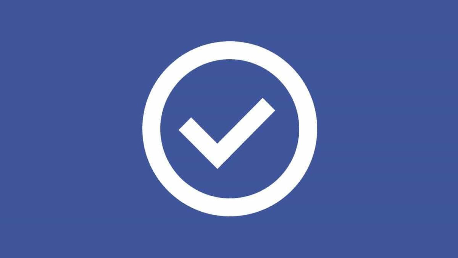 Saiba o que é e como obter uma conta verificada no Facebook