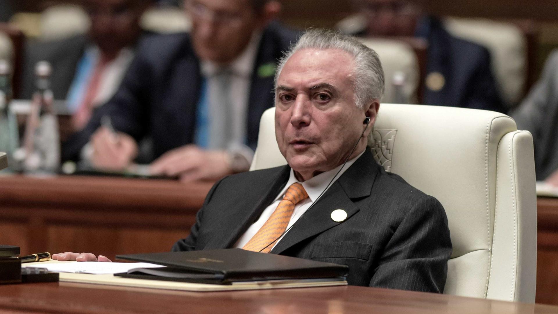 Temer recebeu R$ 31,5 milhões de 'vantagens' no 'quadrilhão' do PMDB