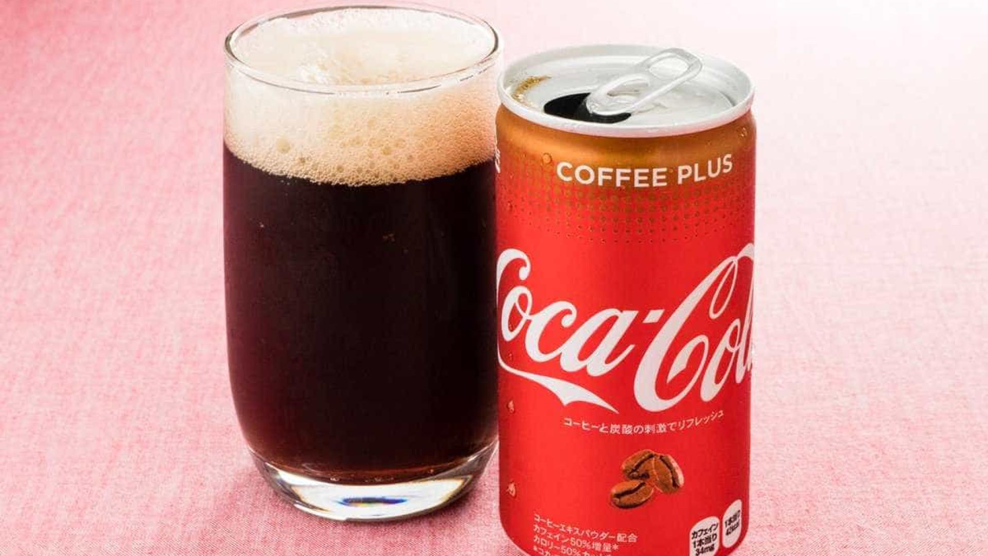 Coffee Plus: Coca-Cola lança refrigerante sabor café no Japão