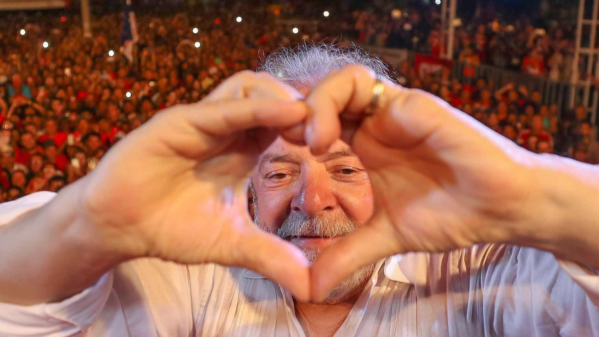 Lula sobe cinco pontos e lidera intenções de voto para 2018