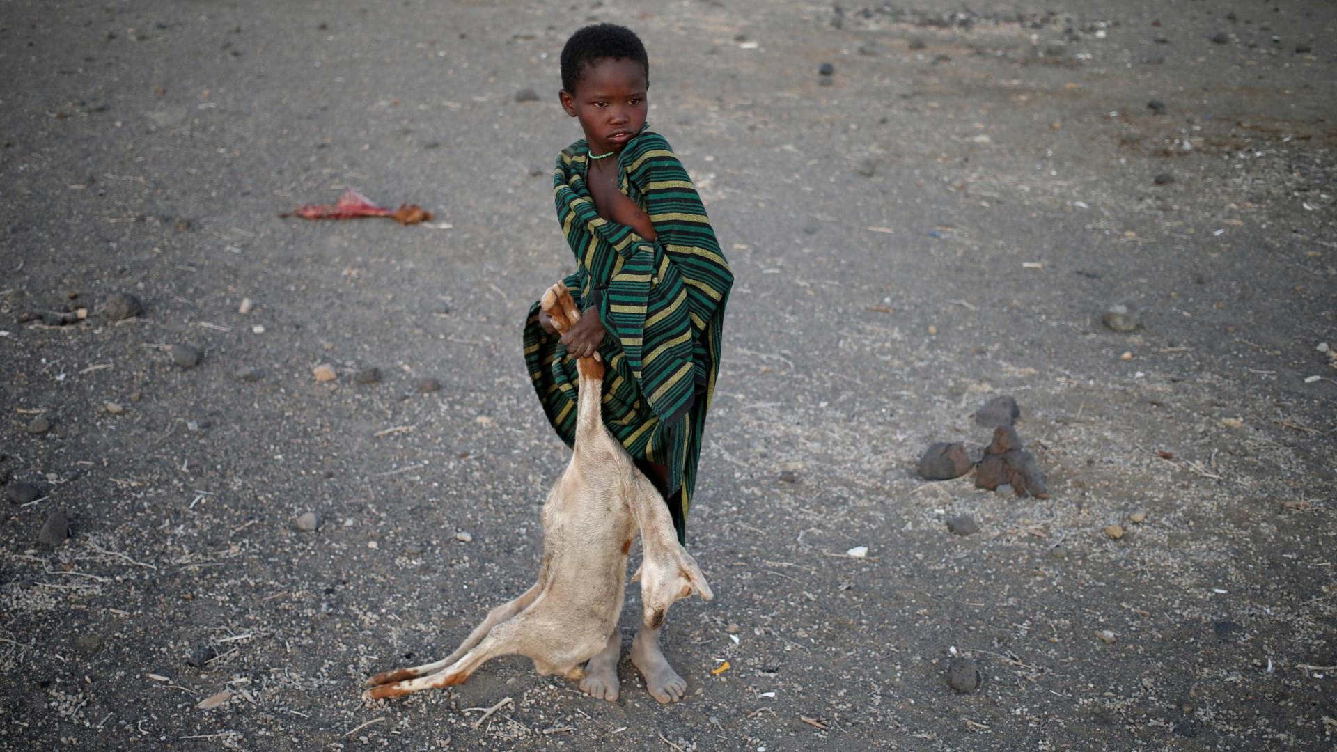 Depois de 10 anos de queda, fome volta a aumentar no mundo