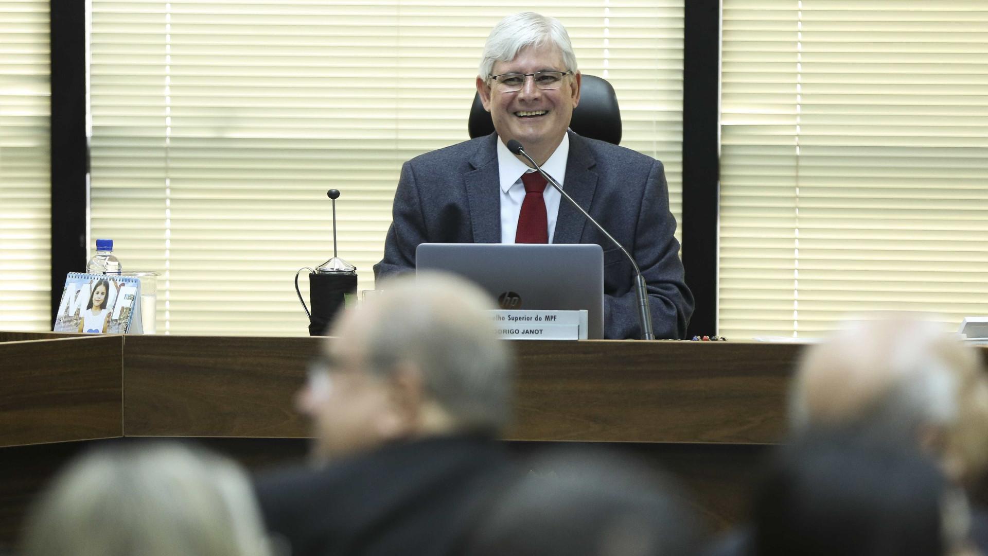 Em sua despedida no STF, Janot defende prisão em segunda instância