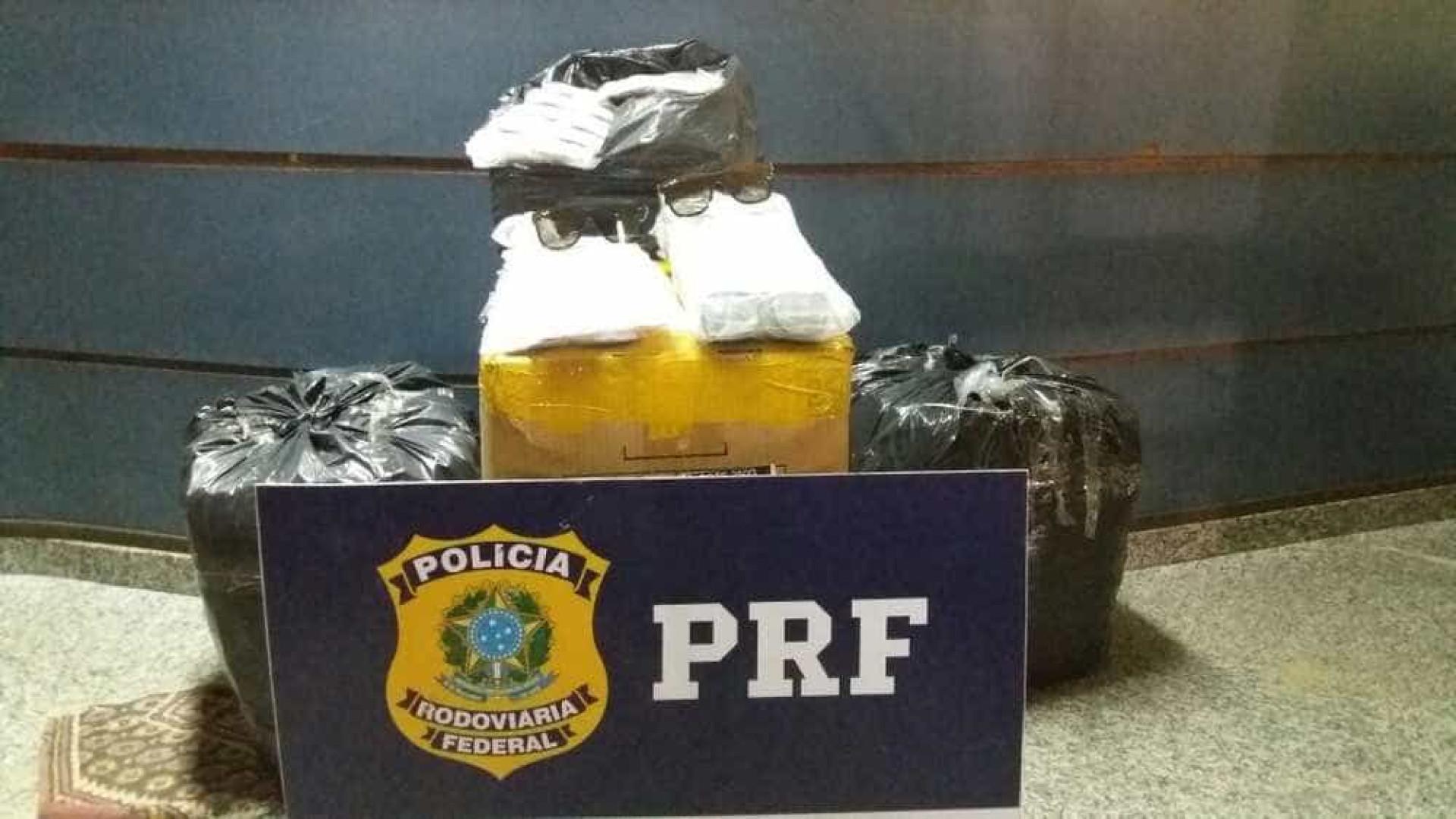 Mil óculos são apreendidos pela PRF e dupla é presa no Rio