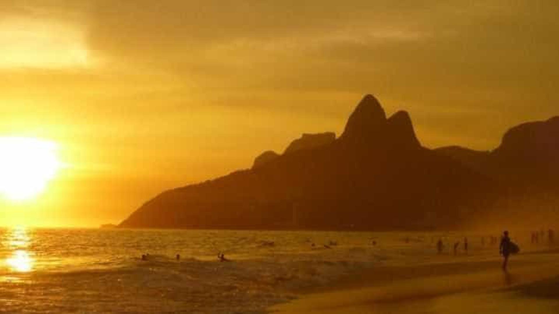 Rio de Janeiro registra 38,9ºC, a temperatura mais quente do inverno