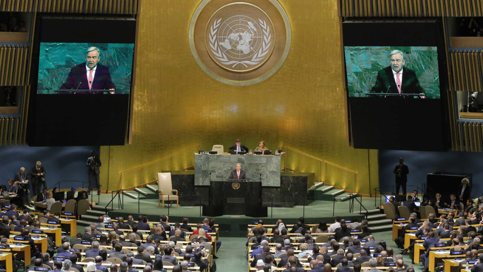 'Ameaça nuclear nunca foi tão grande', diz Guterres na ONU