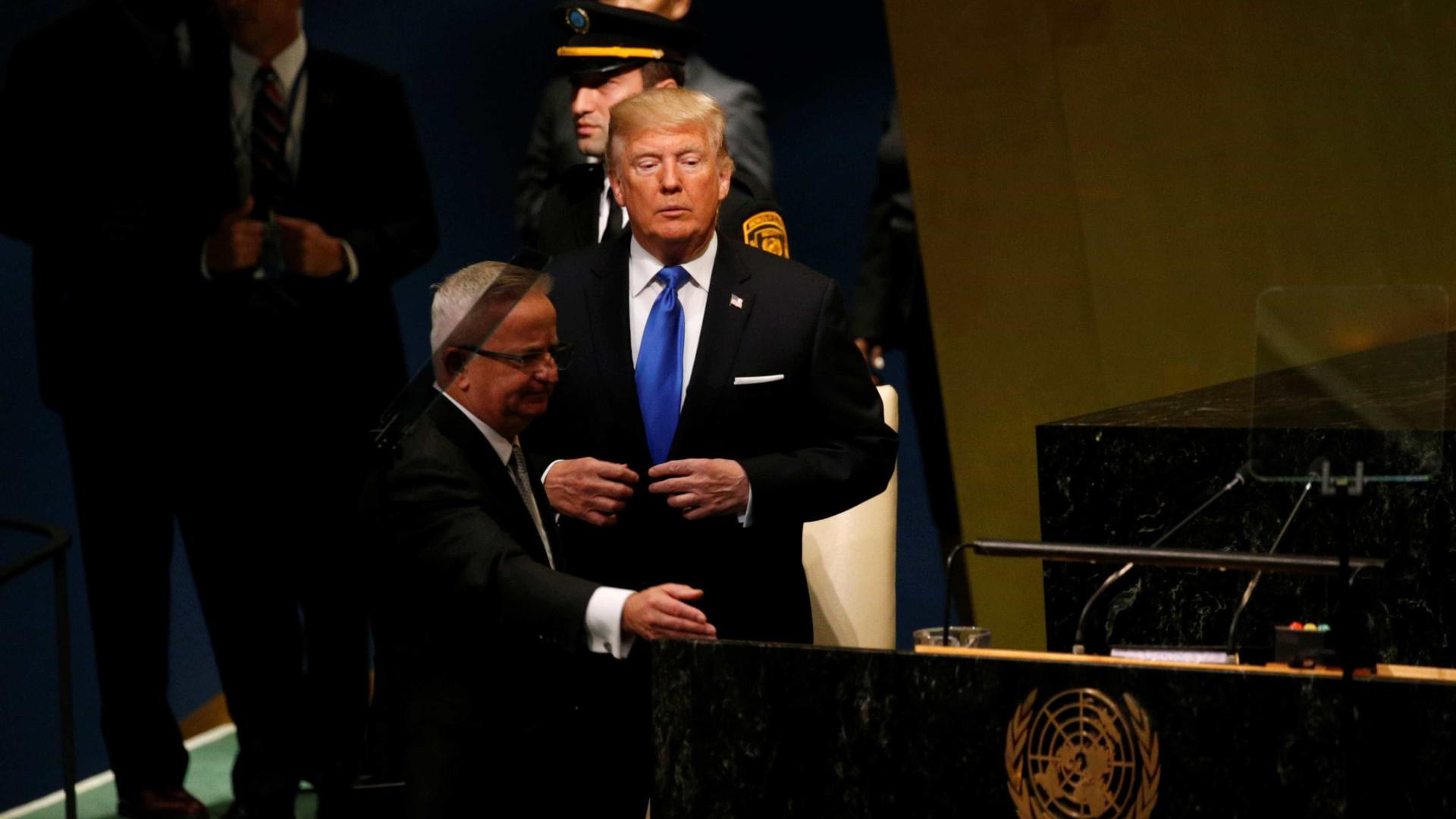"""Na ONU, Trump ameaça """"destruir completamente a Coreia do Norte"""""""