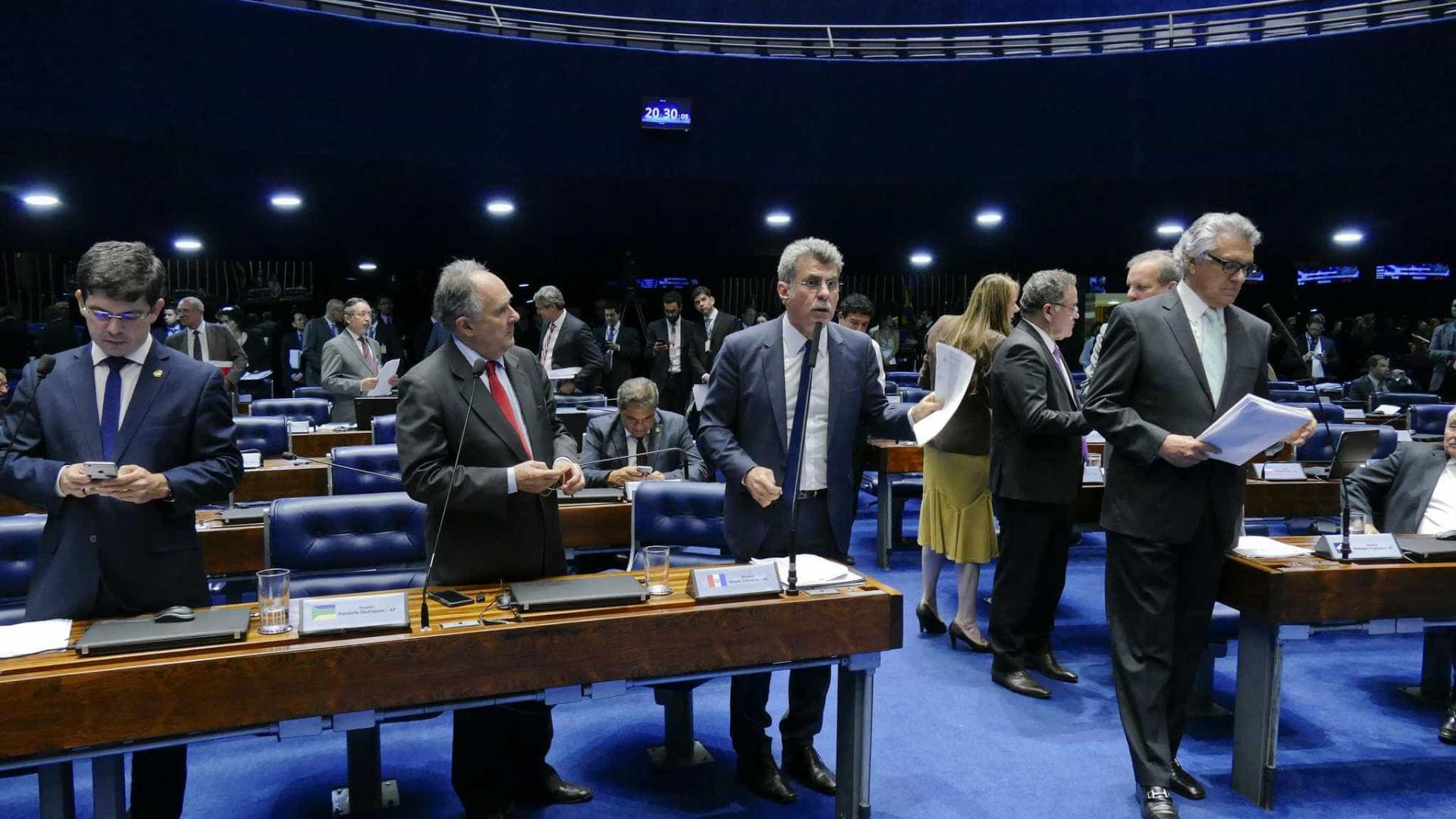 Senado quer começar a votar hoje projeto sobre financiamento de fundo eleitoral