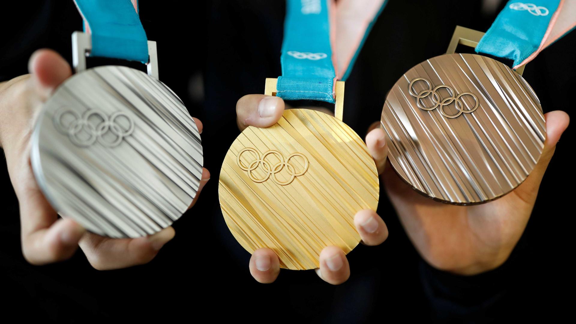 COI apresenta medalhas dos Jogos de Inverno de 2018