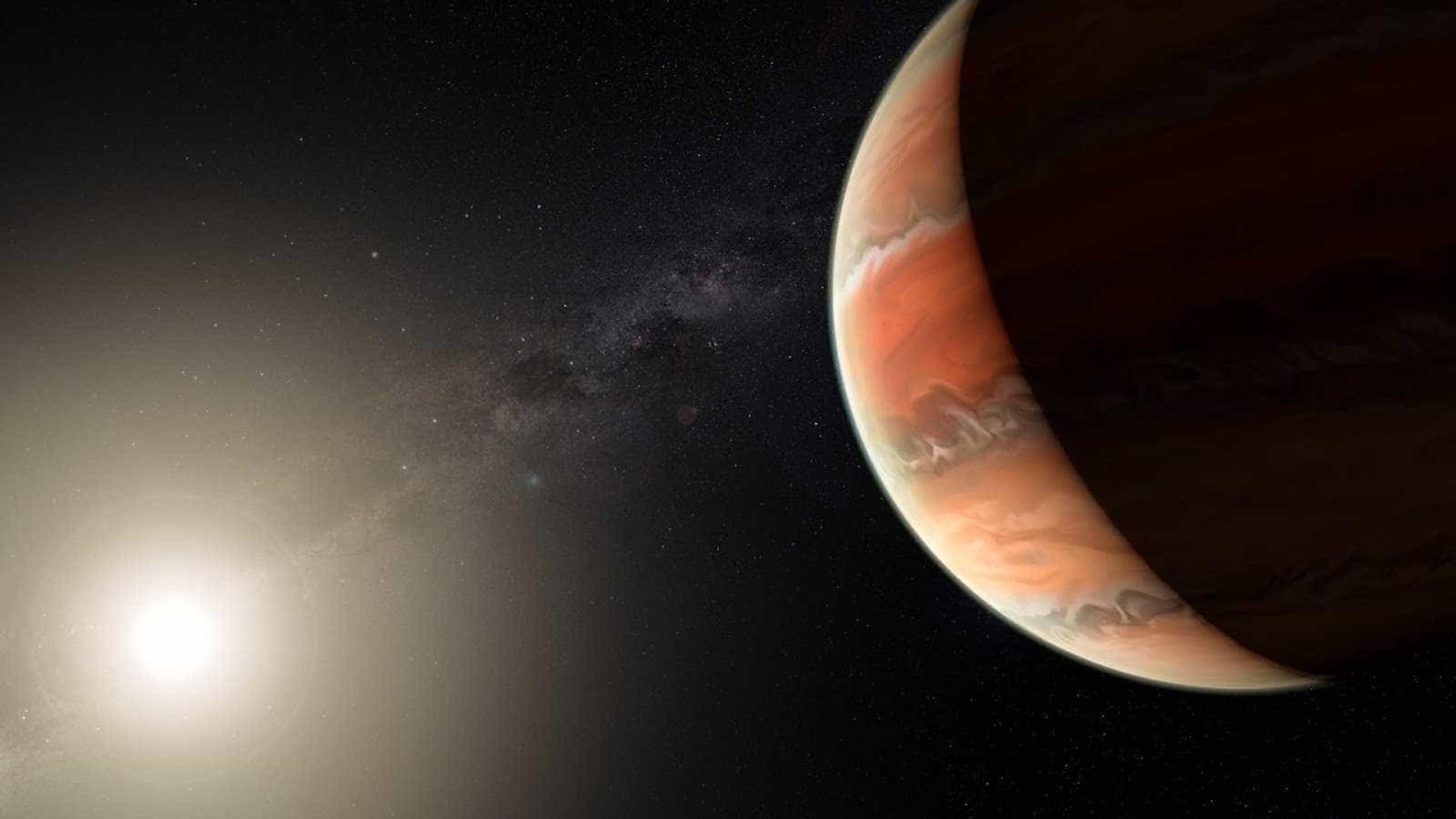 Astrônomos descobrem planeta que tem titânio no céu