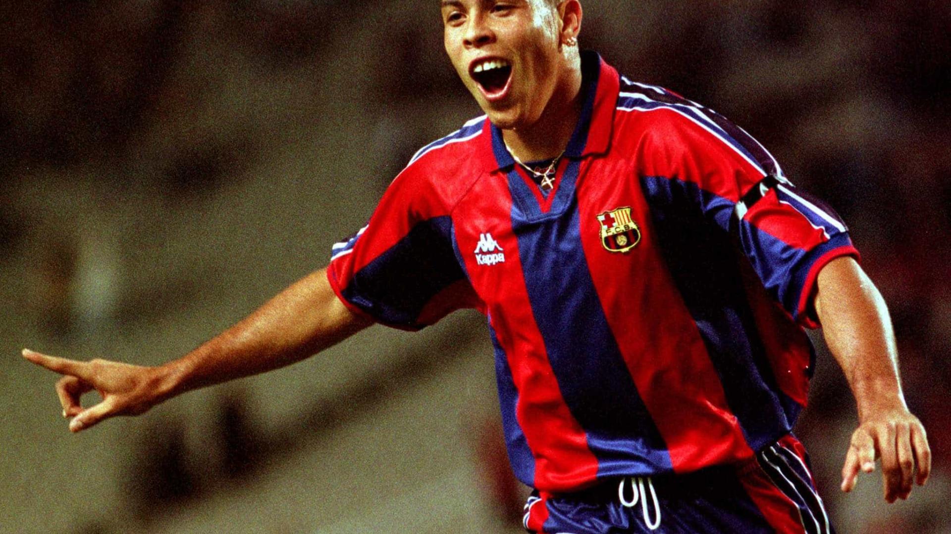 Ronaldo 'Fenômeno' faz 41 anos; relembre sua carreira em fotos