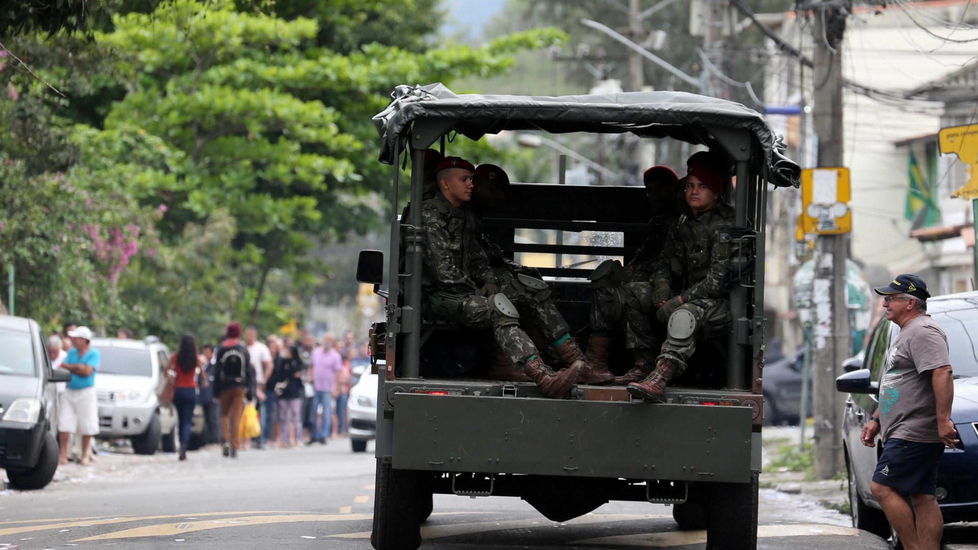 Forças Armadas e PM realizam operação em seis comunidades no RJ