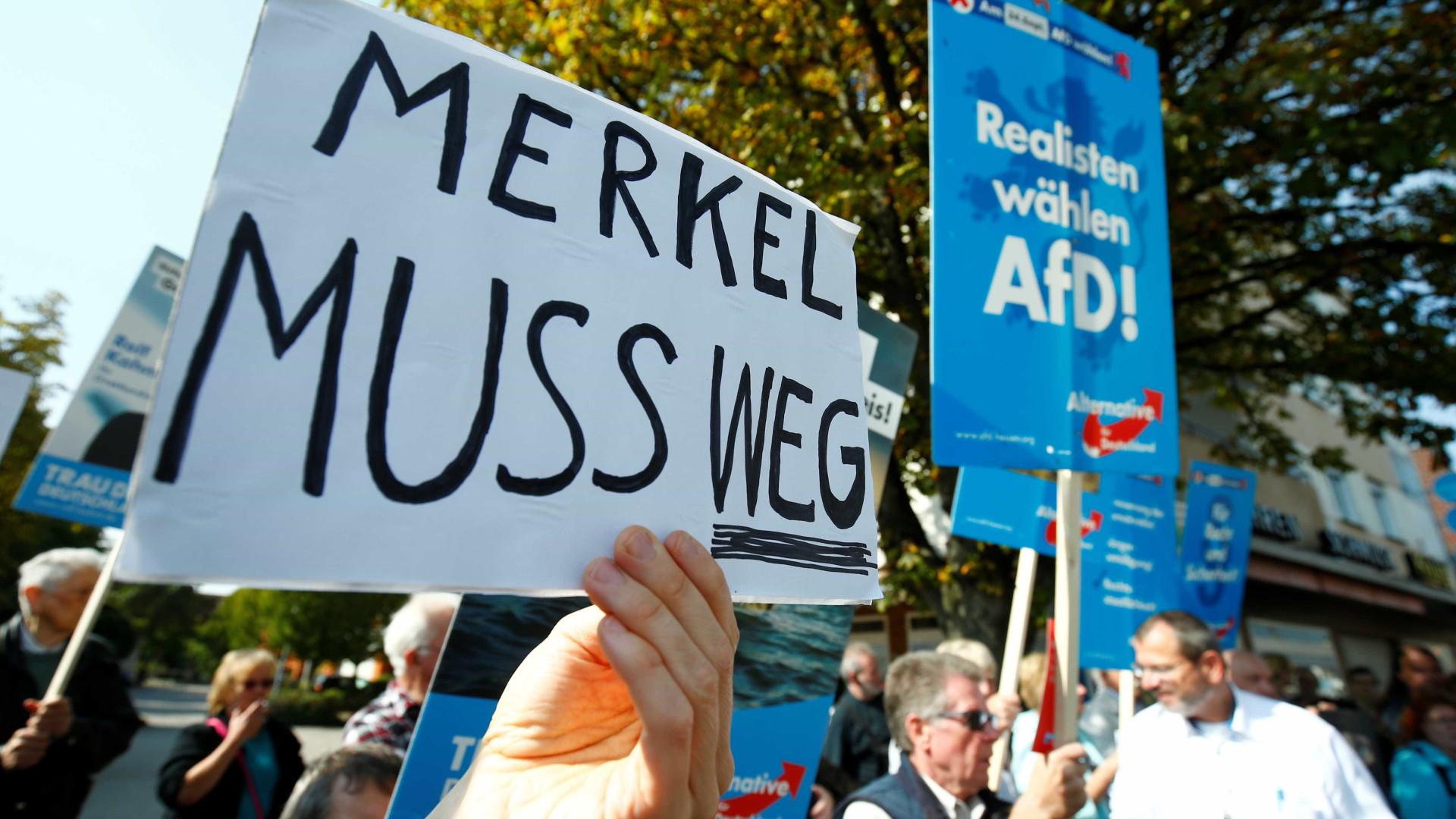 Direita radical avança para se tornar principal oposição a Merkel