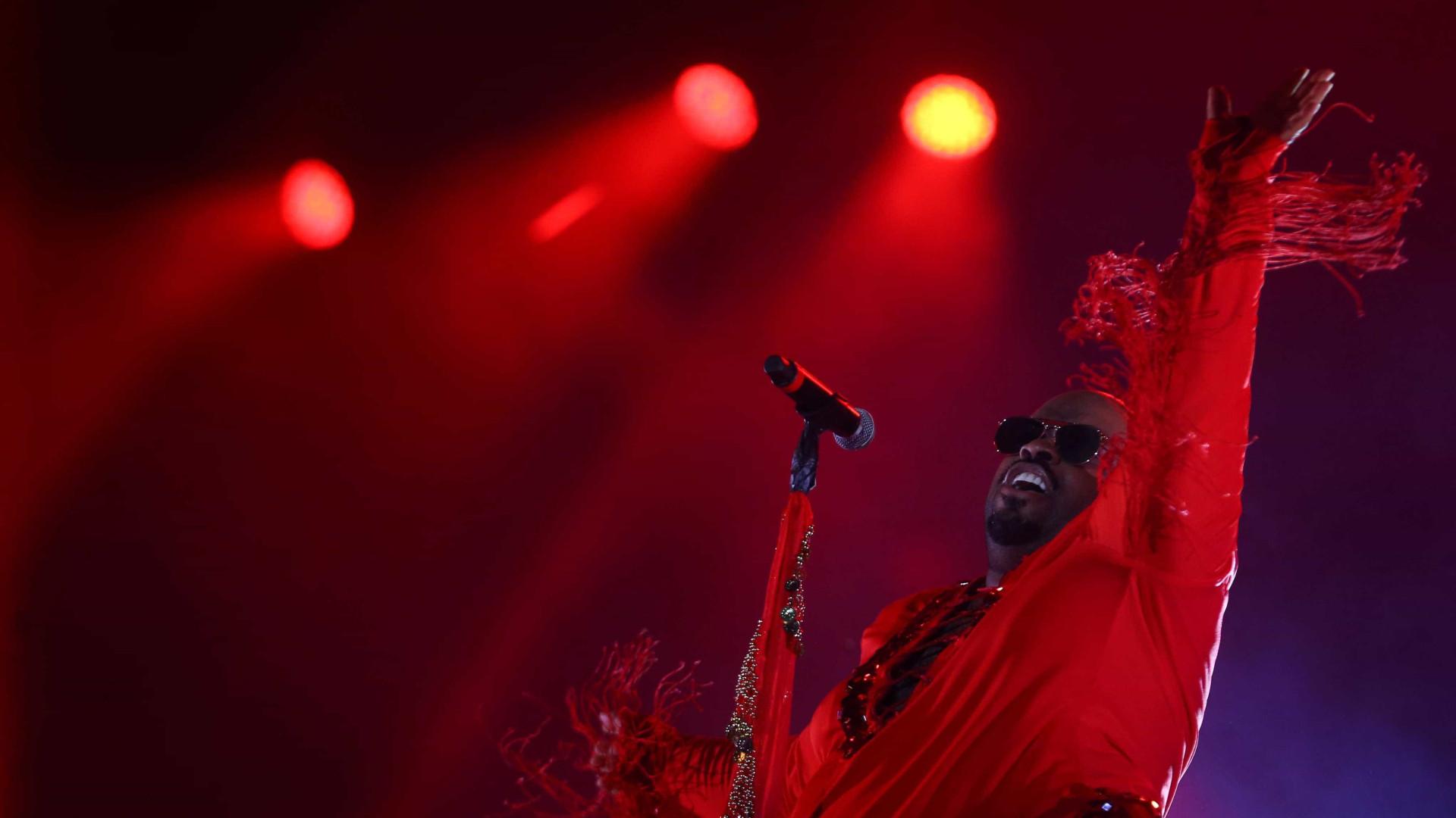 CeeLo Green faz bailão dançante e leva funk 'Deu Onda' ao Rock in Rio