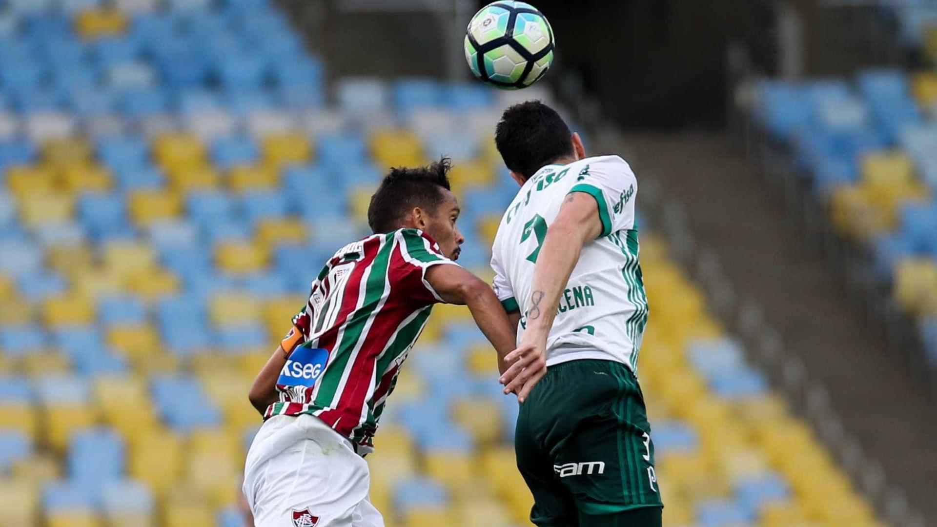 Palmeiras vence o Flu no Rio com gol de 'vilão' da Libertadores