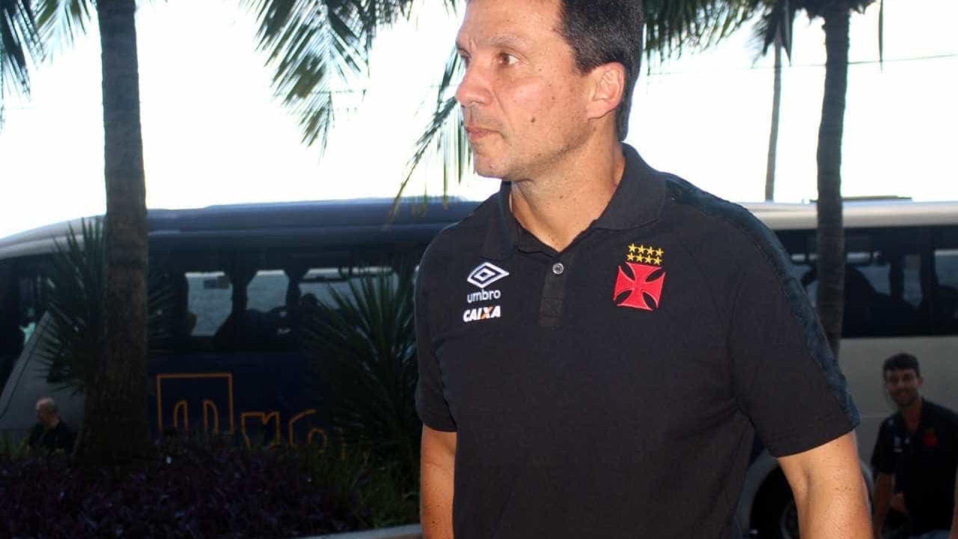 Sem Wagner, Zé Ricardo faz mistério no Vasco para encarar o Sport