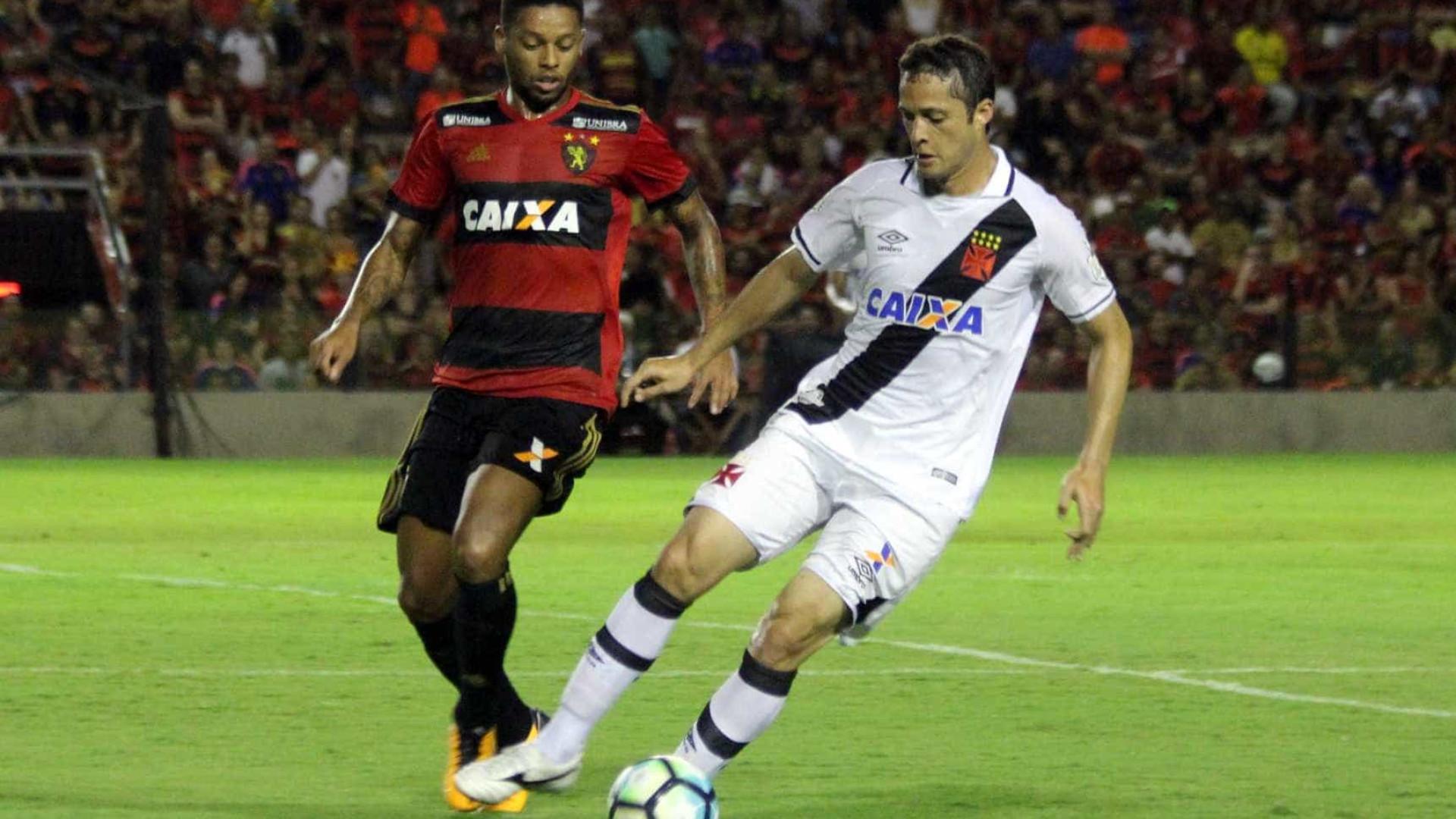 Vasco e Sport empatam em jogo com nova polêmica de arbitragem