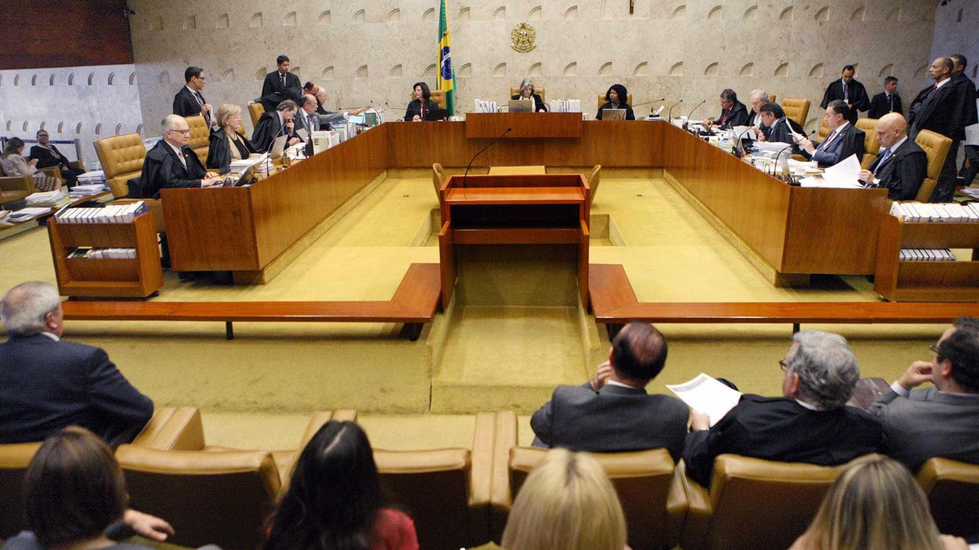 STF vota a favor de prazo para cobrar condenado por improbidade
