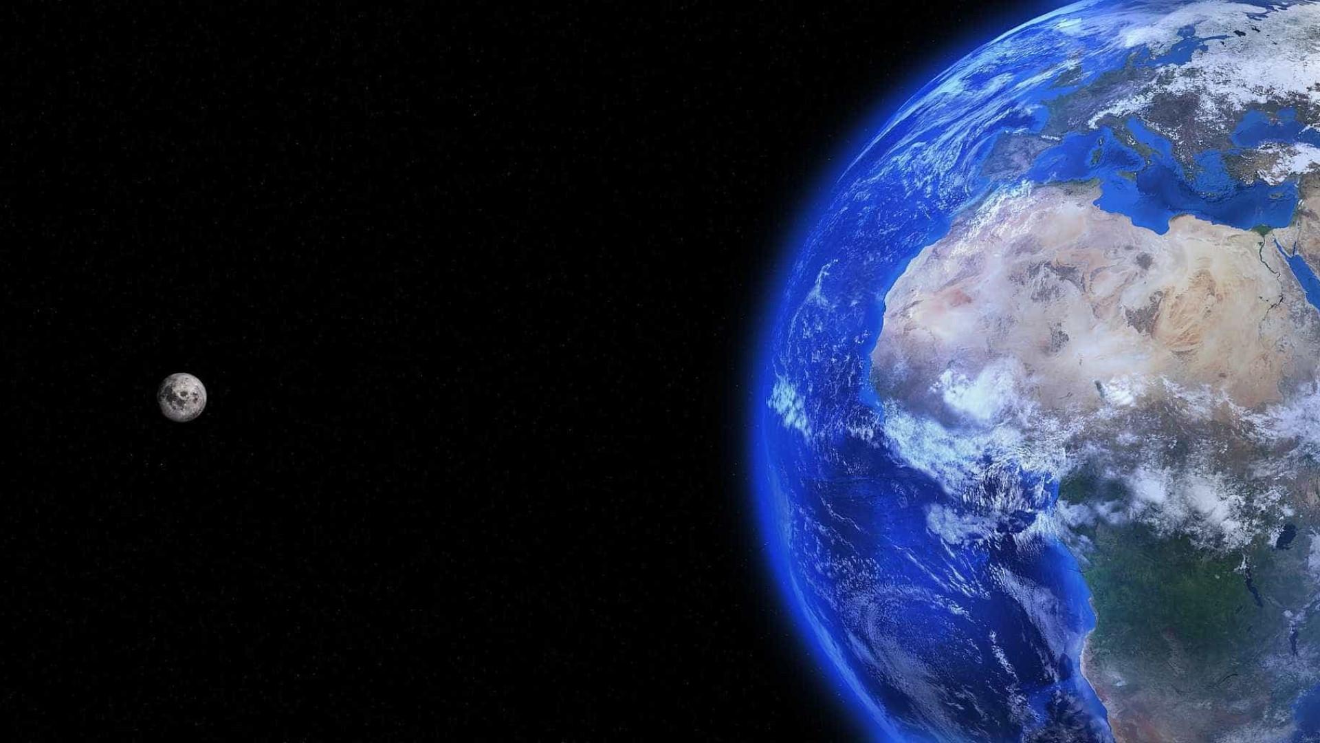 Quase metade da Terra e Marte teria desaparecido durante origem