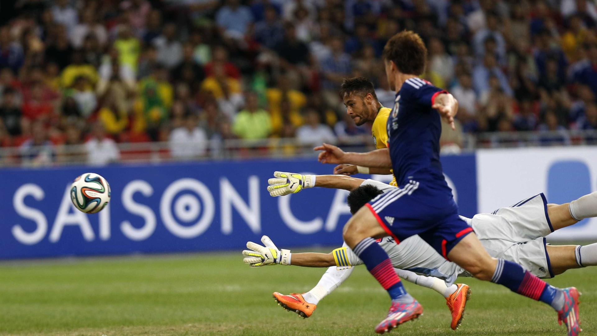 Brasil enfrenta o Japão em novembro