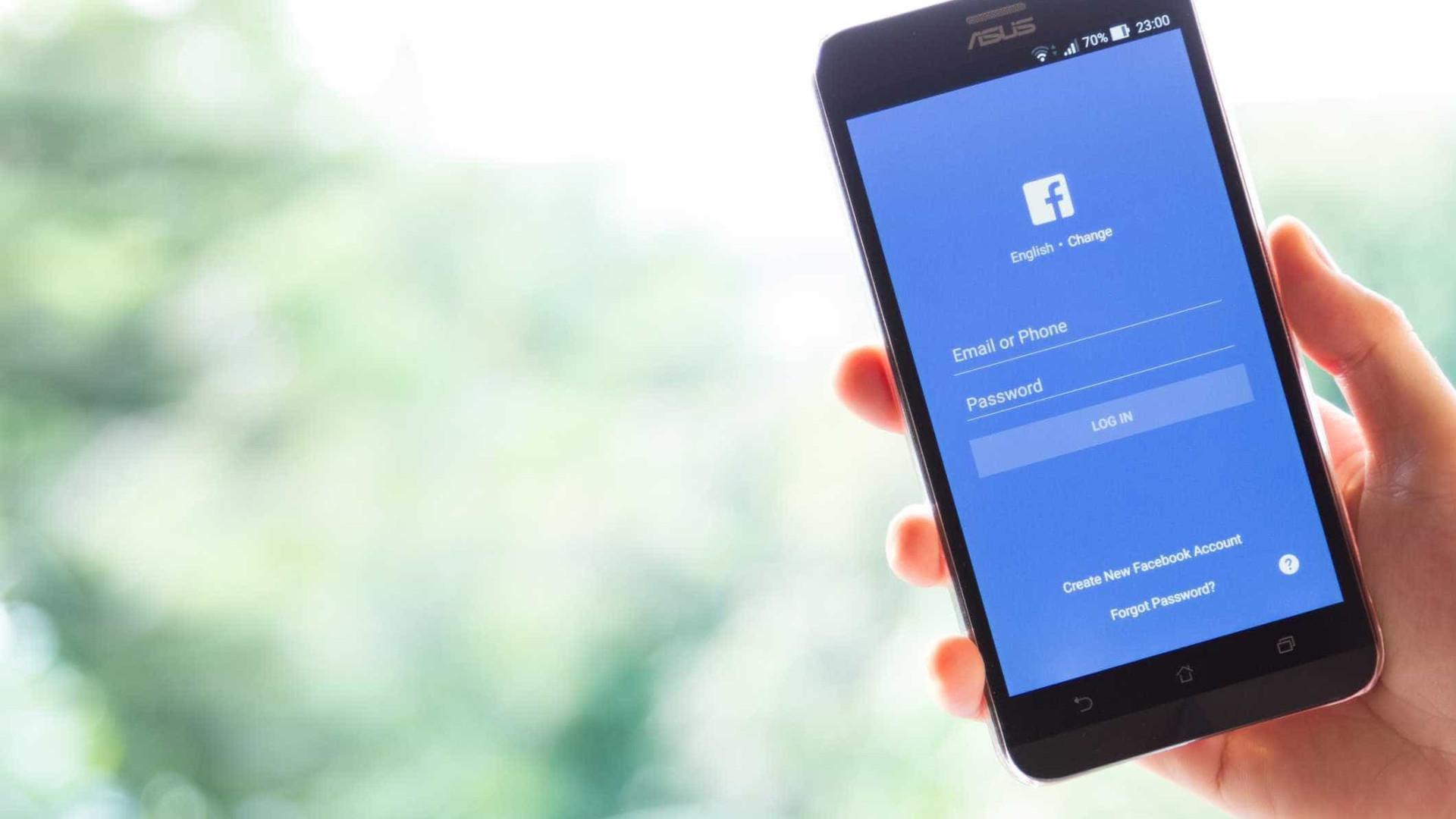 Facebook testa recuperação de password por reconhecimento facial