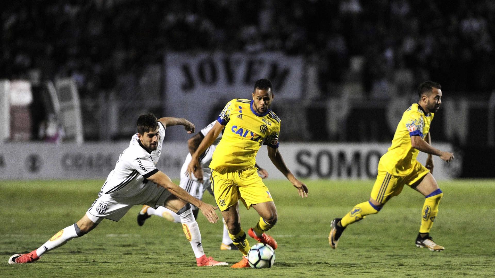 Flamengo perde para Ponte Preta e fica fora do G-6
