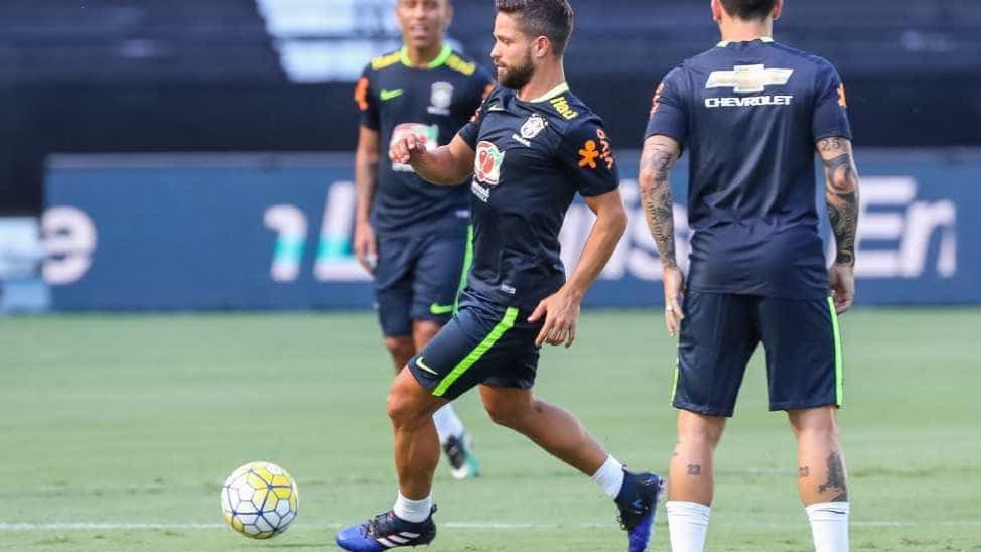 Diego, do Flamengo, é cortado da seleção brasileira